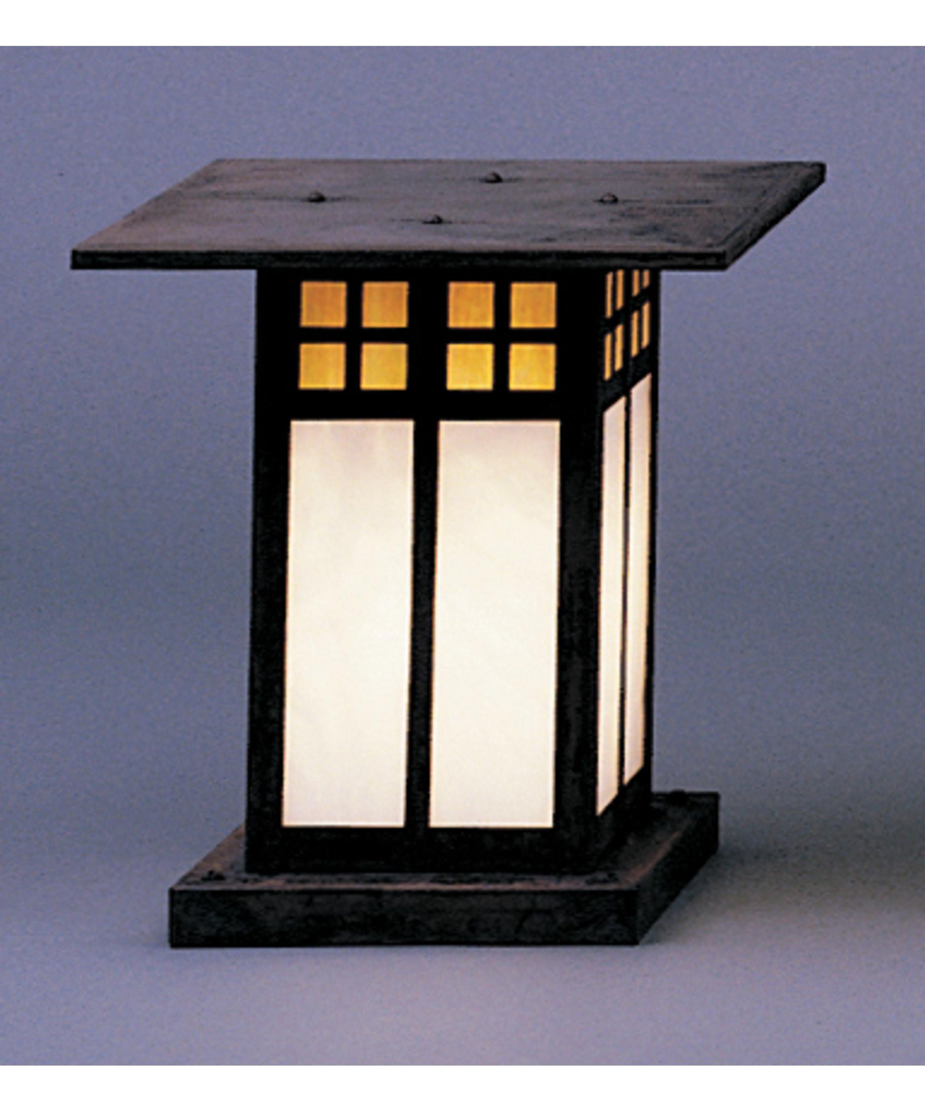 Arroyo Craftsman GC-9 Glasgow 1 Light Outdoor Pier Lamp