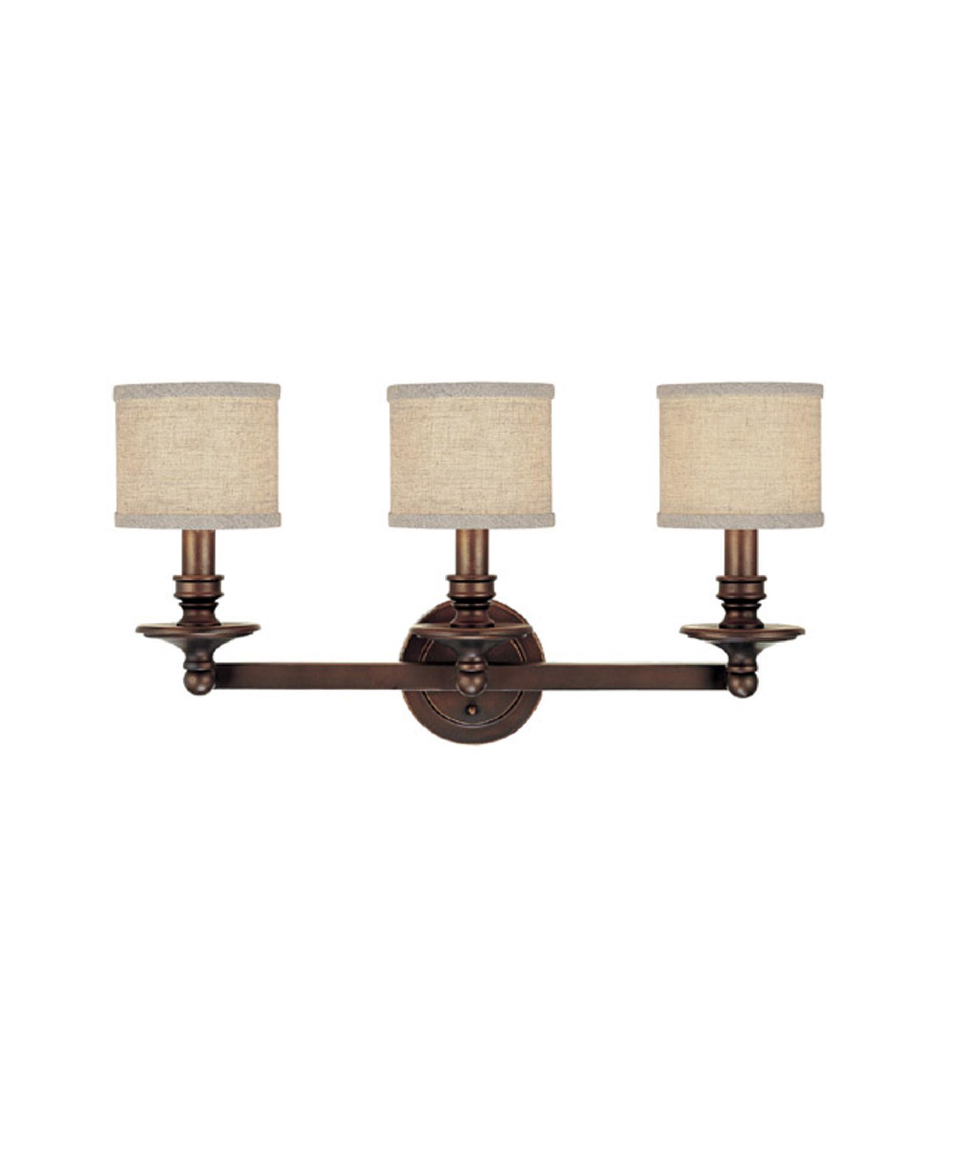 Bathroom Light Fixtures With Fabric Shades capital lighting 1238 midtown 26 inch wide bath vanity light