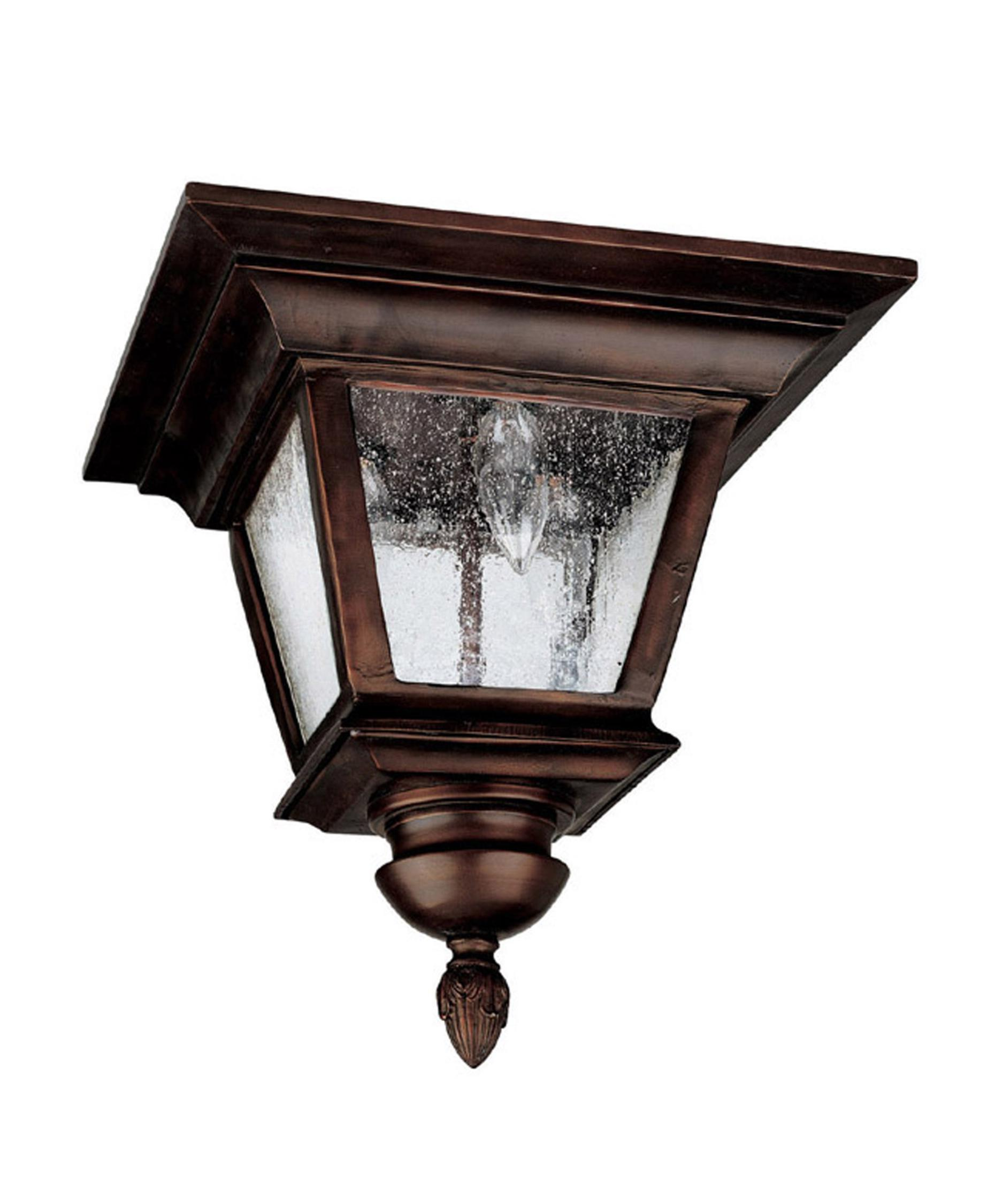 Capital Lighting 9968 Brookwood 12 Inch Wide 3 Light Outdoor Flush Mount Capitol Lighting 1 800lighting Com