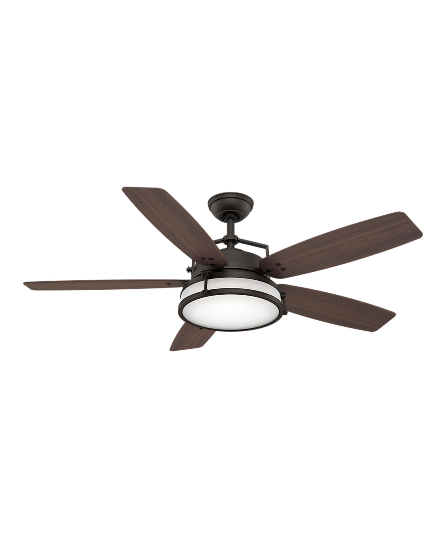 casablanca caneel bay 56 inch 5 blade ceiling fan capitol lighting
