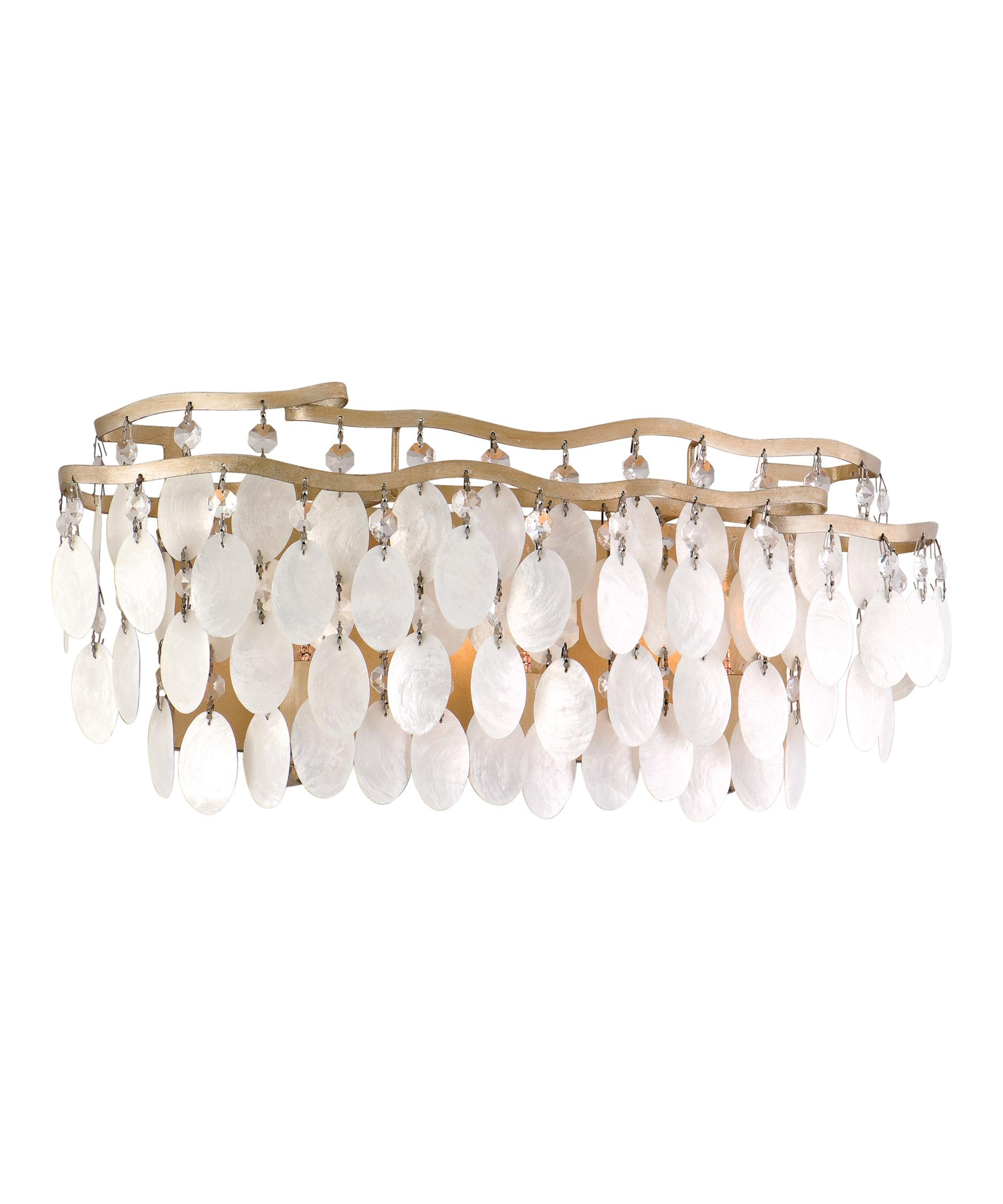shown in champagne leaf finish and capiz shell glass bathroom track lighting 1