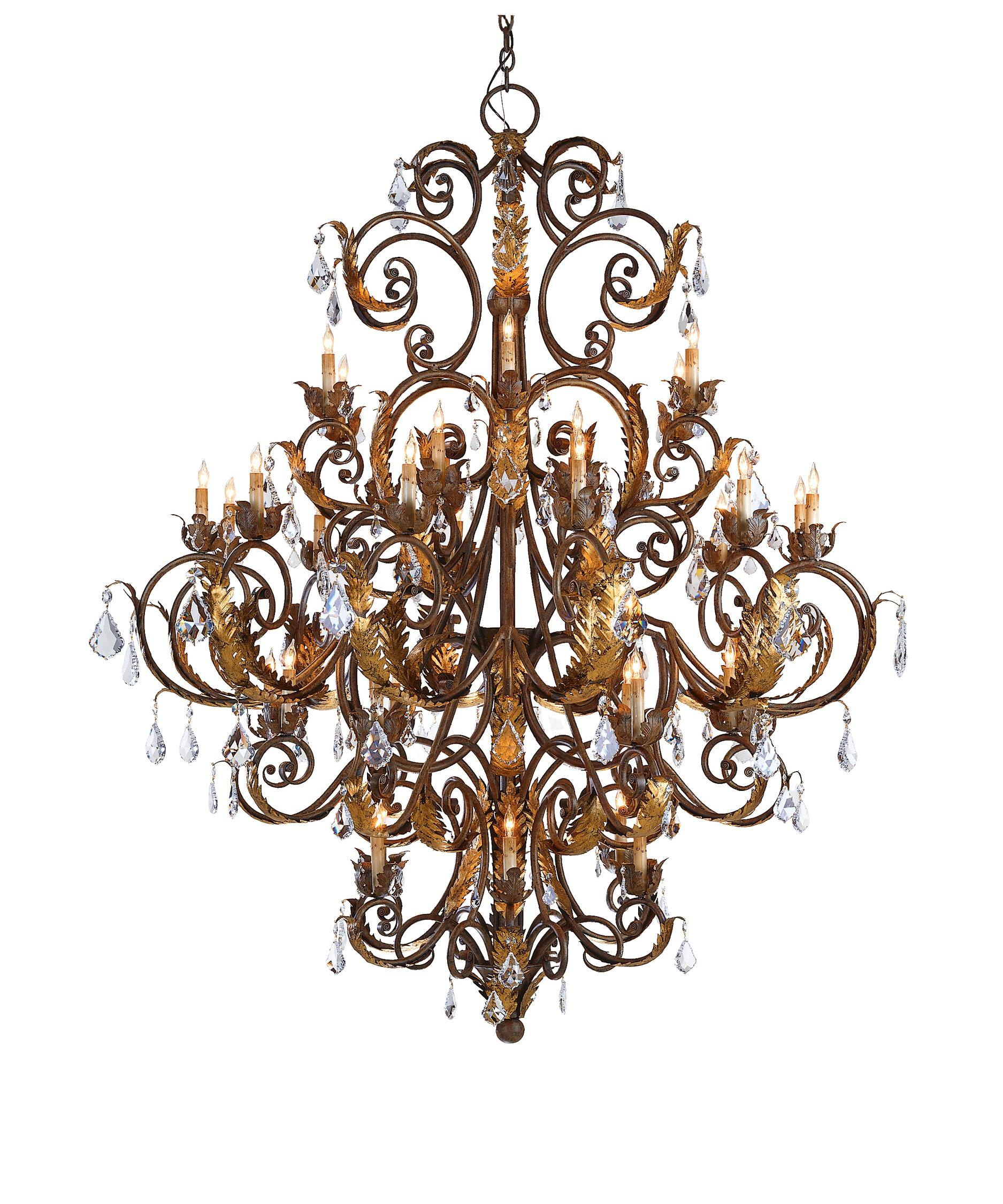 currey and company lighting fixtures. shown in venetiangold leafswarovski crystal finish currey and company lighting fixtures