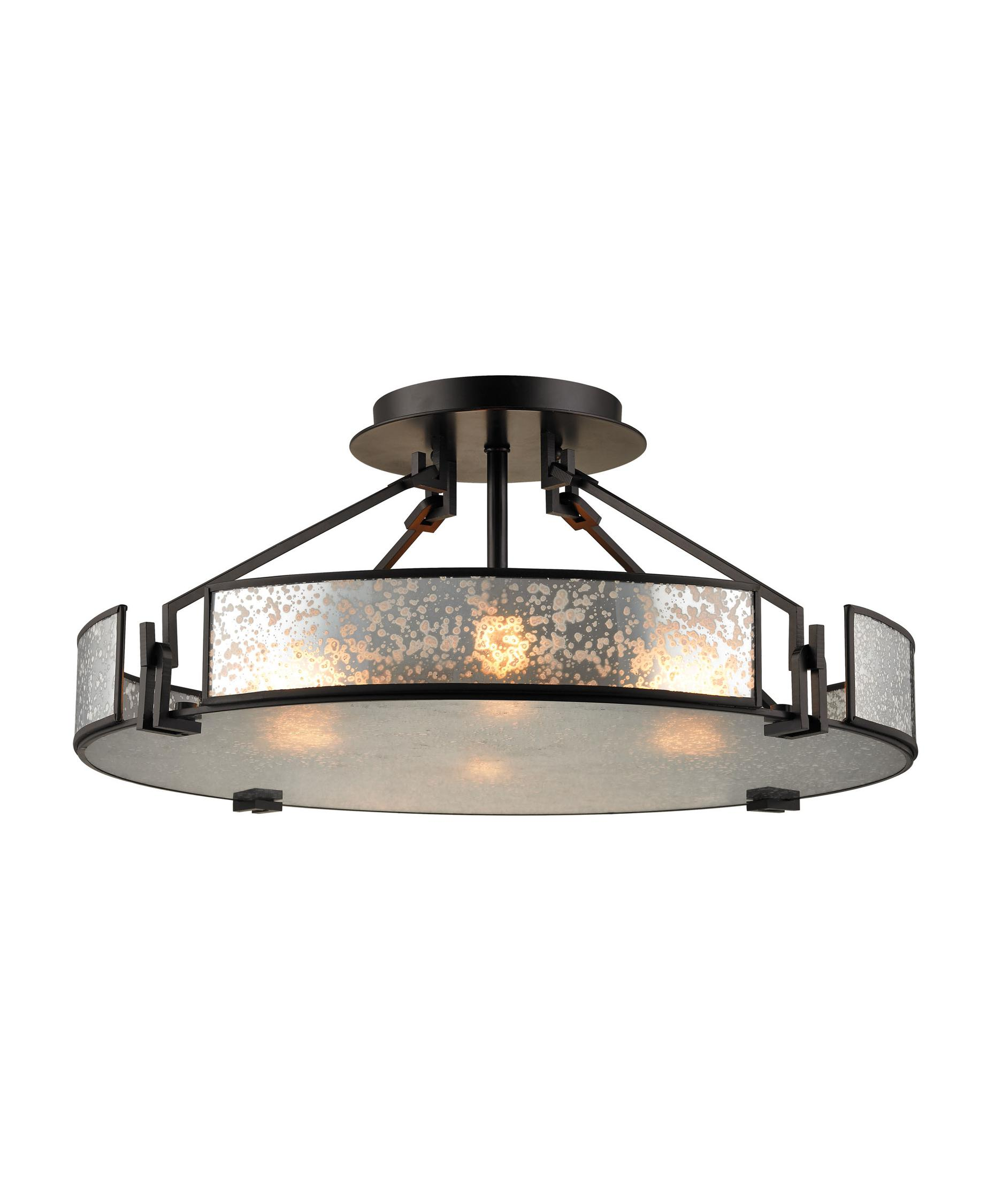 mercury glass lighting fixtures. shown in oil rubbed bronze finish and mercury glass lighting fixtures