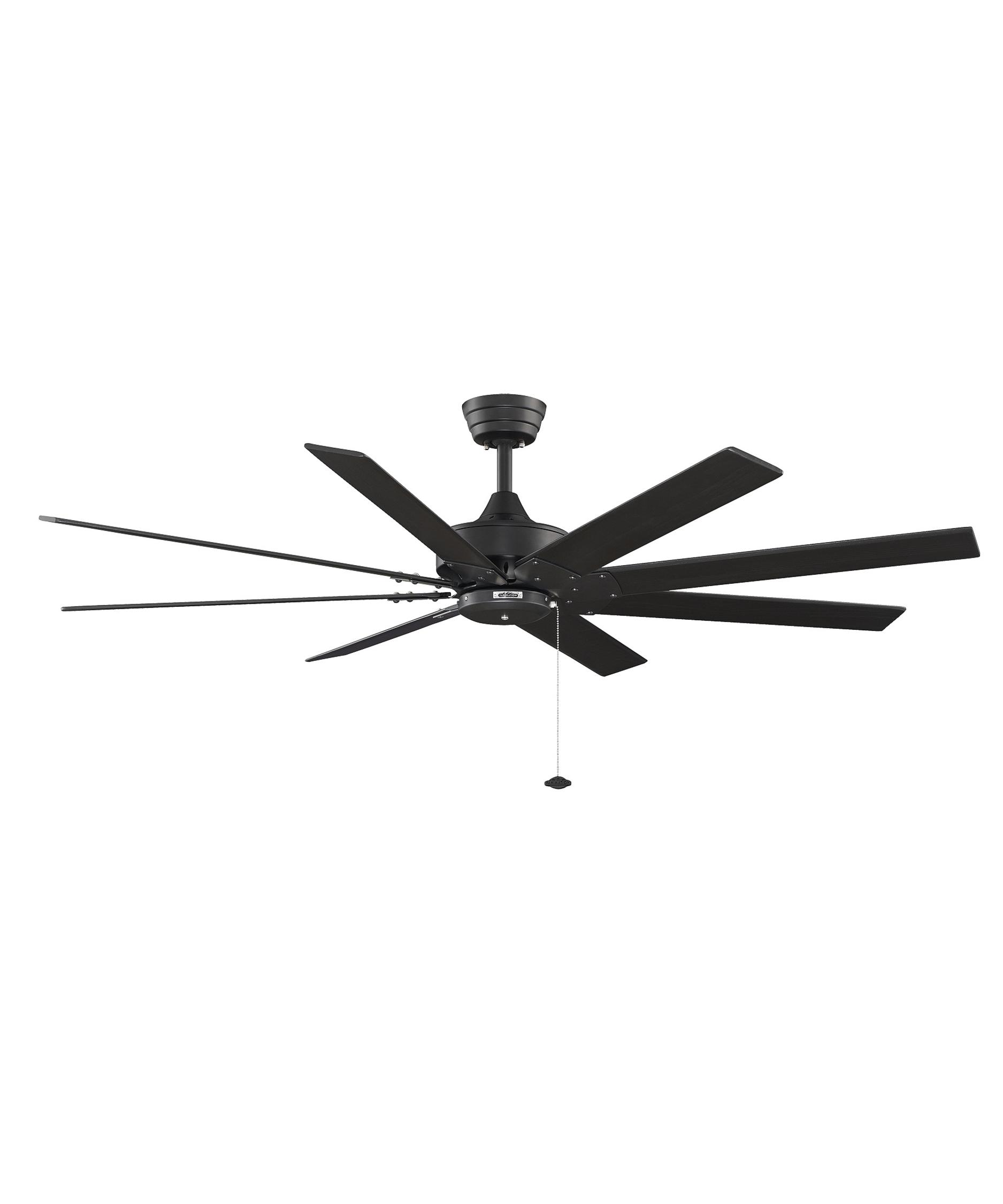 fanimation fp7910 levon 63 inch 8 blade ceiling fan | capitol