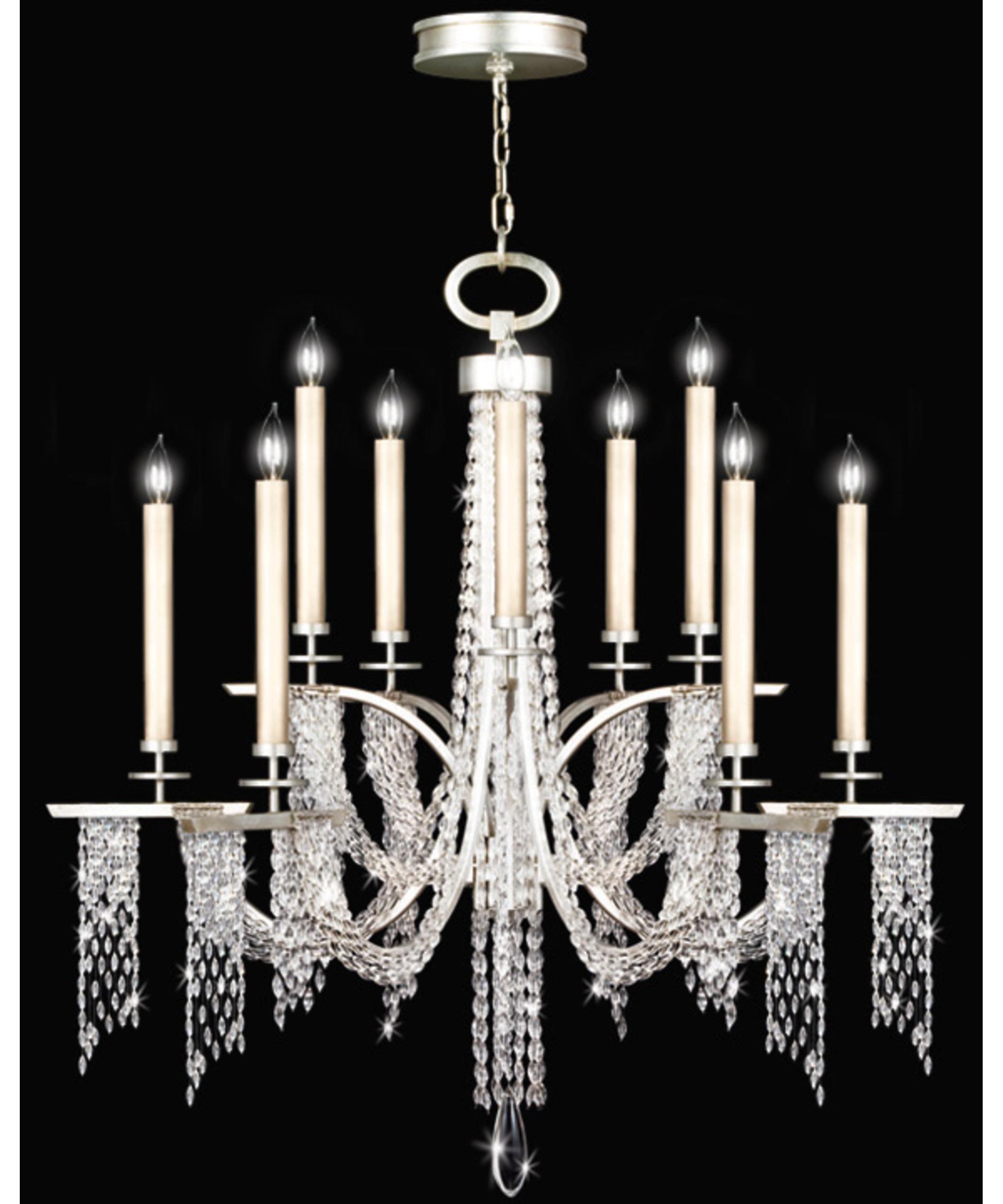 fine art lamps cascades  inch wide  light chandelier  capitol, Lighting ideas