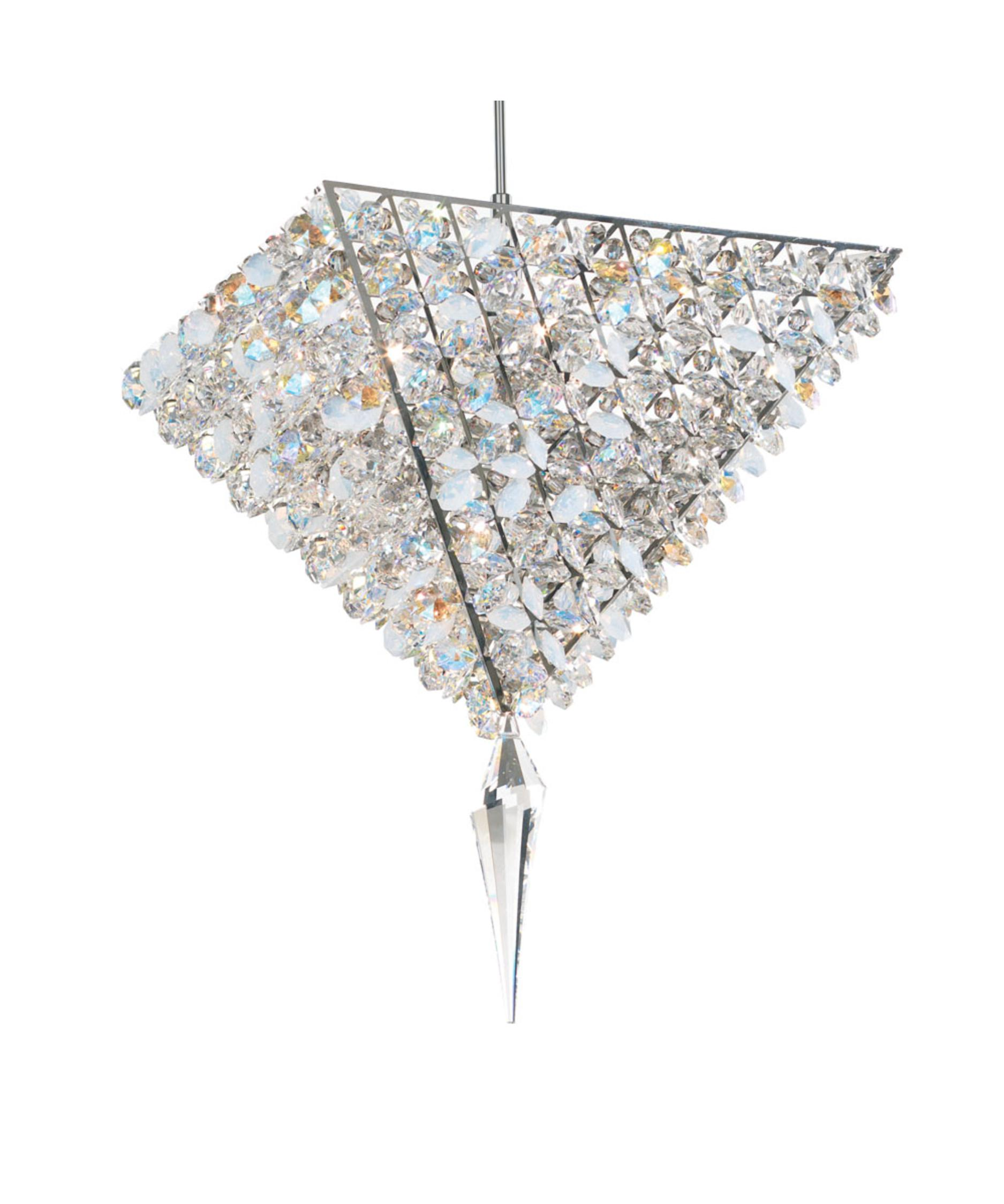 shown with and moondust swarovski elements crystal - Schonbek Lighting