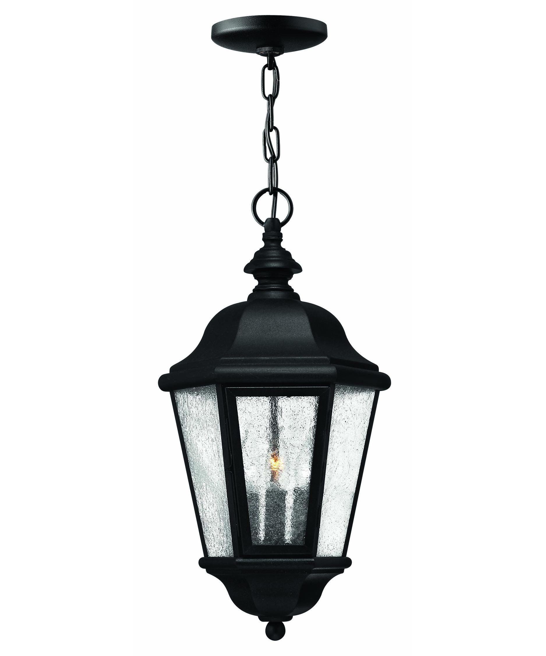 Outdoor hanging lighting - Hinkley Lighting 1672 Edgewater 10 Inch Wide 3 Light Outdoor Hanging Lantern Capitol Lighting 1 800lighting Com