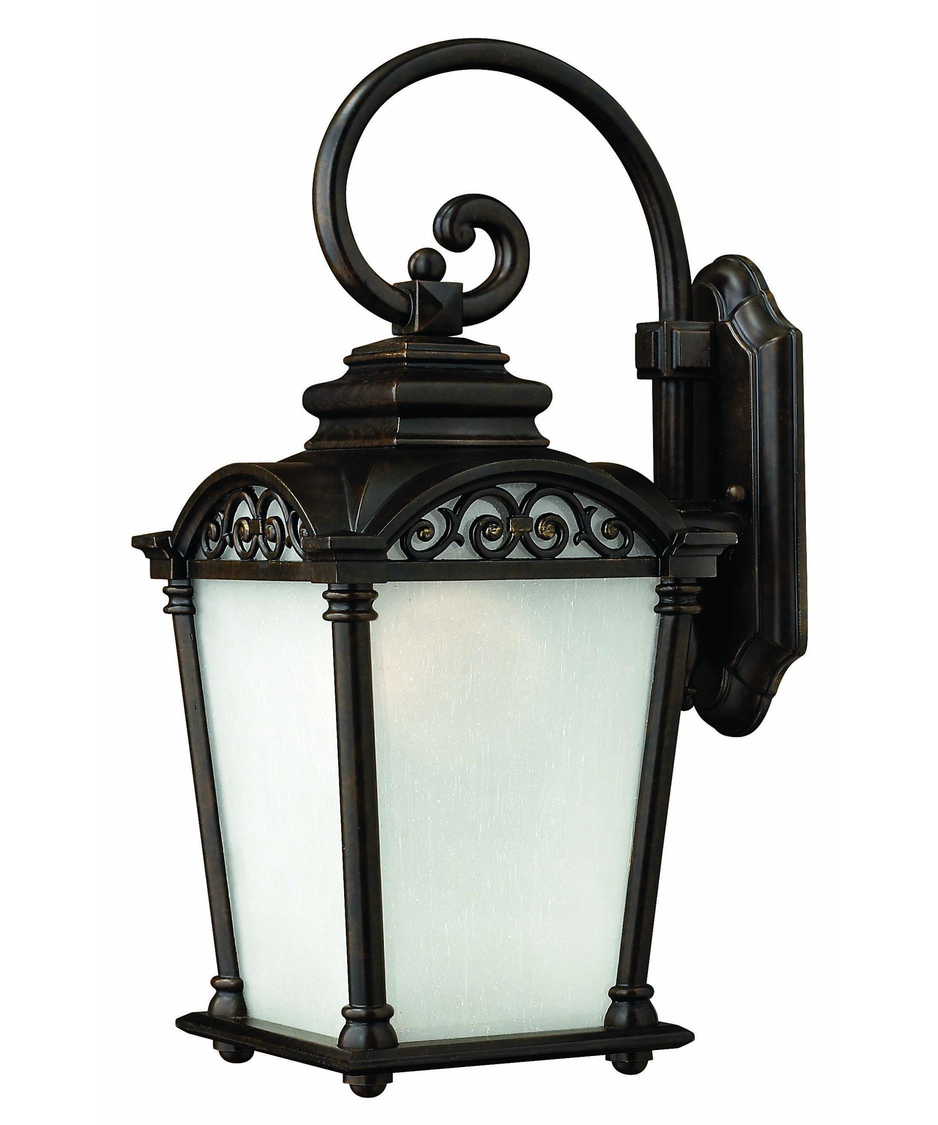 Hinkley Lighting 1964ESDS Sonesta Energy Smart Dark Sky 1 Light Outdoor Wall Light Capitol ...