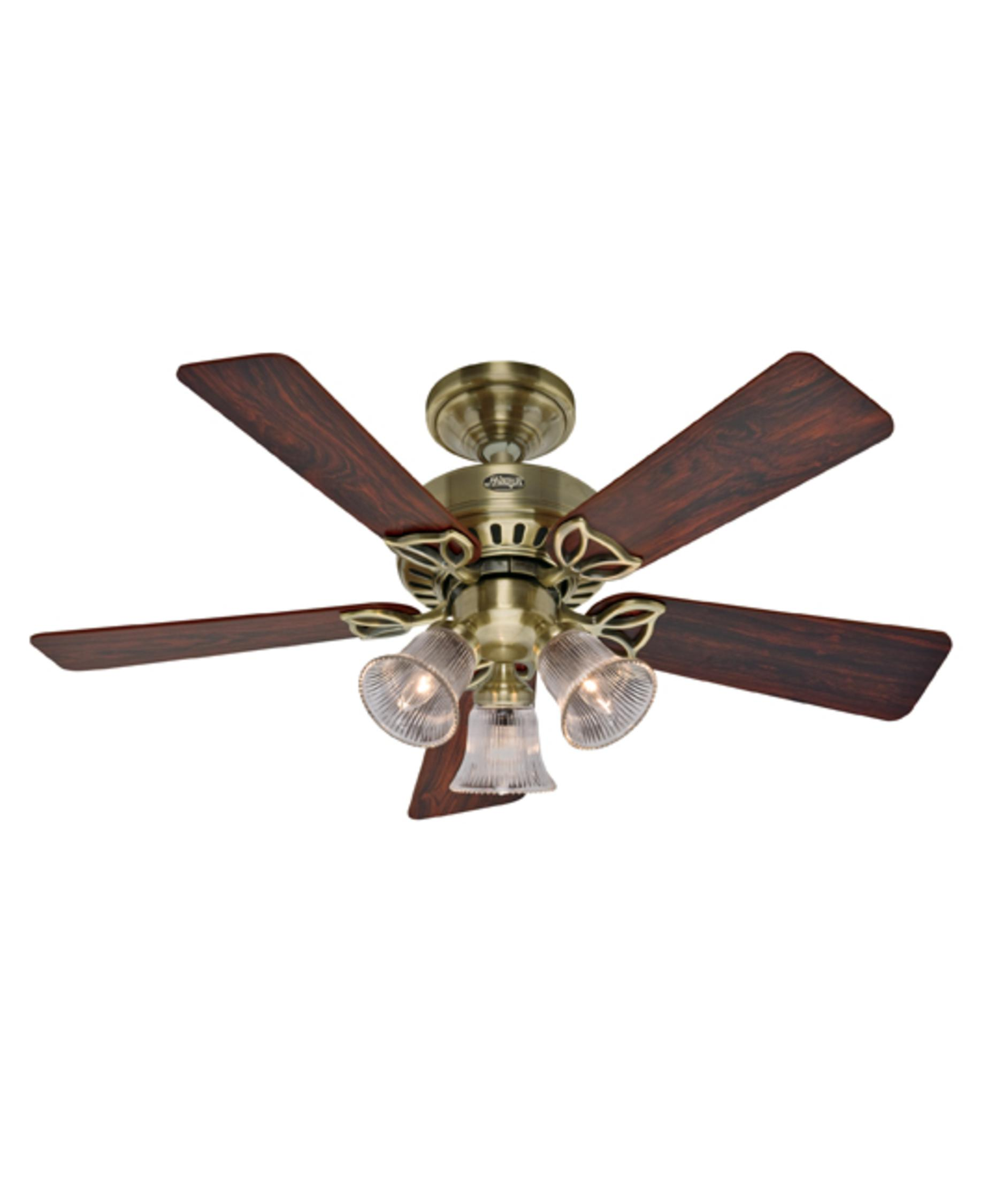 Murray Feiss Ceiling Fan Light Kit: Hunter Fan 20430 Beacon Hill 42 Inch Ceiling Fan With