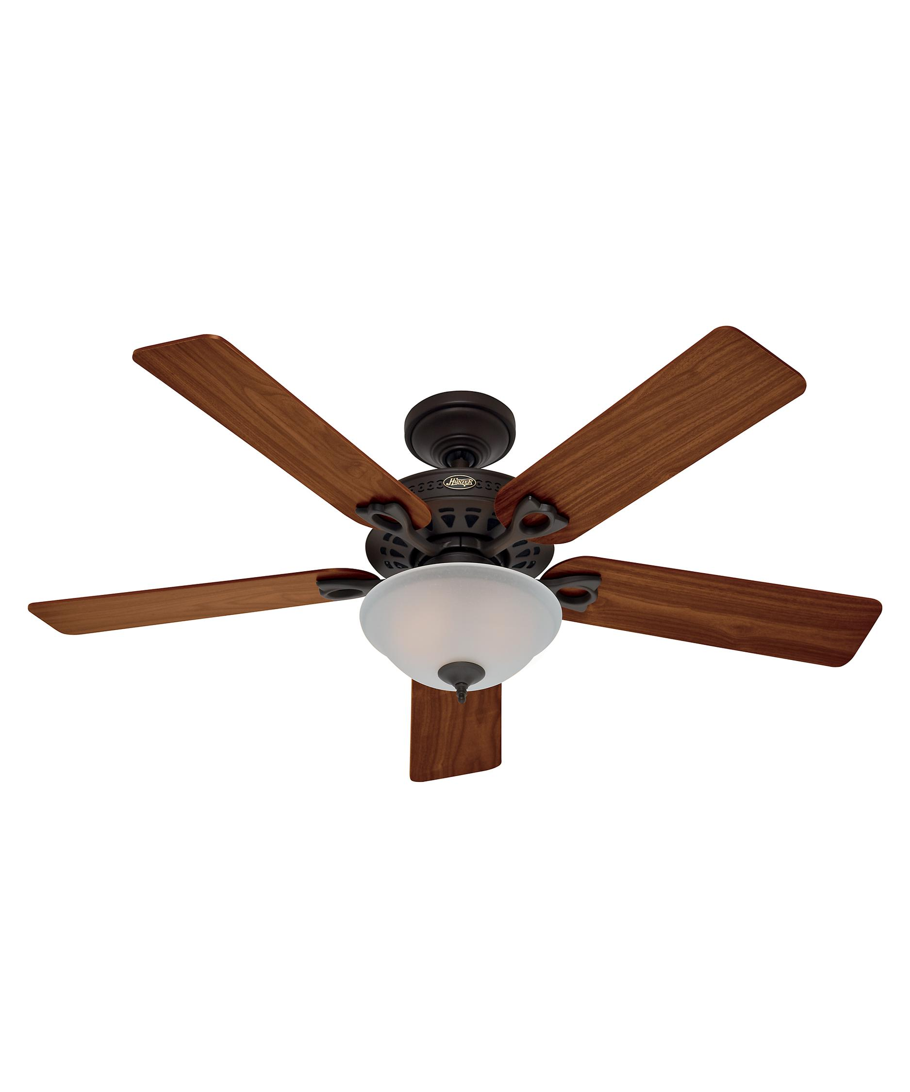 Hunter Fan 53057 Astoria 52 Inch Ceiling Fan With Light Kit | Capitol ...