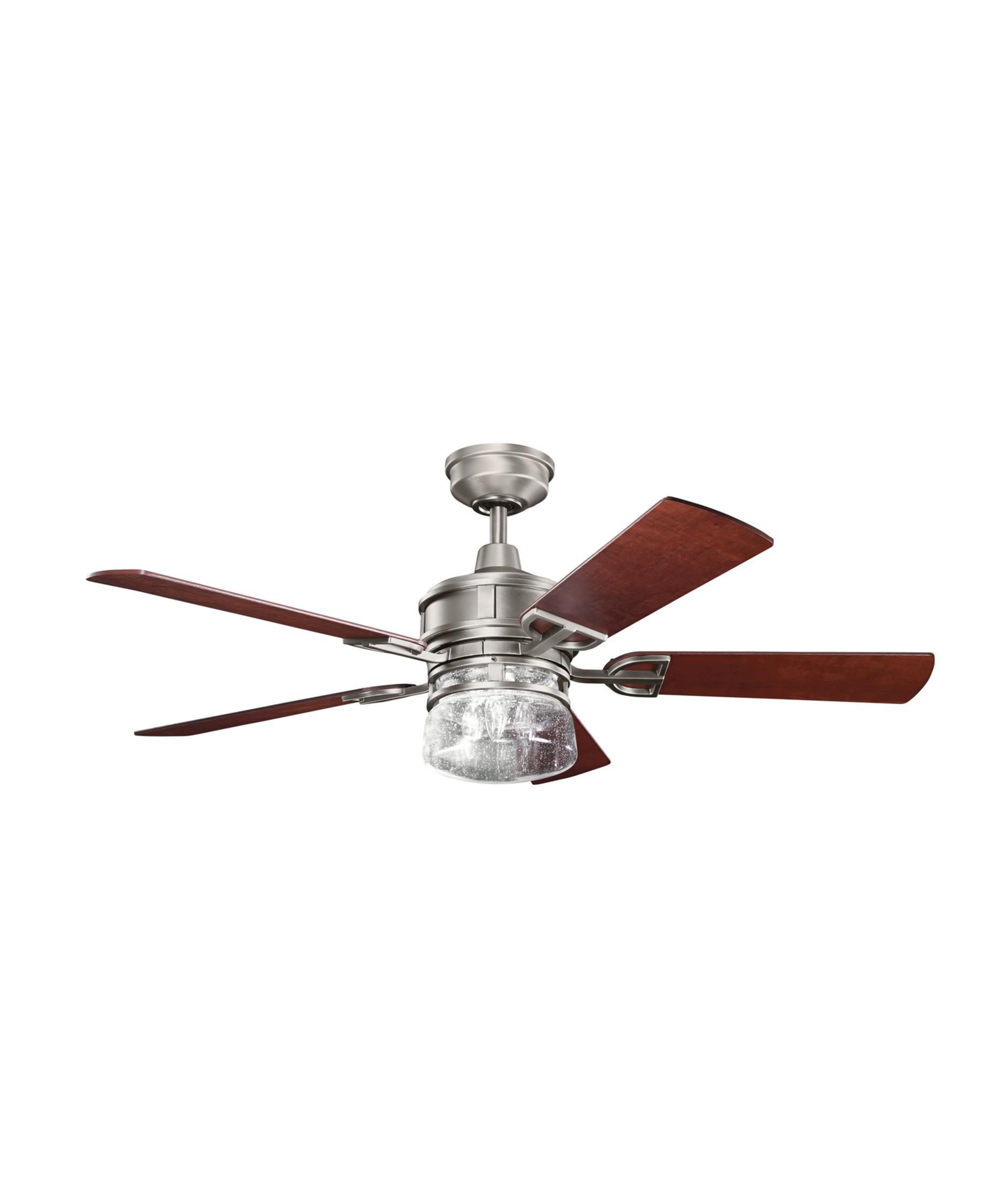 kichler 300120 lyndon 52 inch 5 blade ceiling fan | capitol