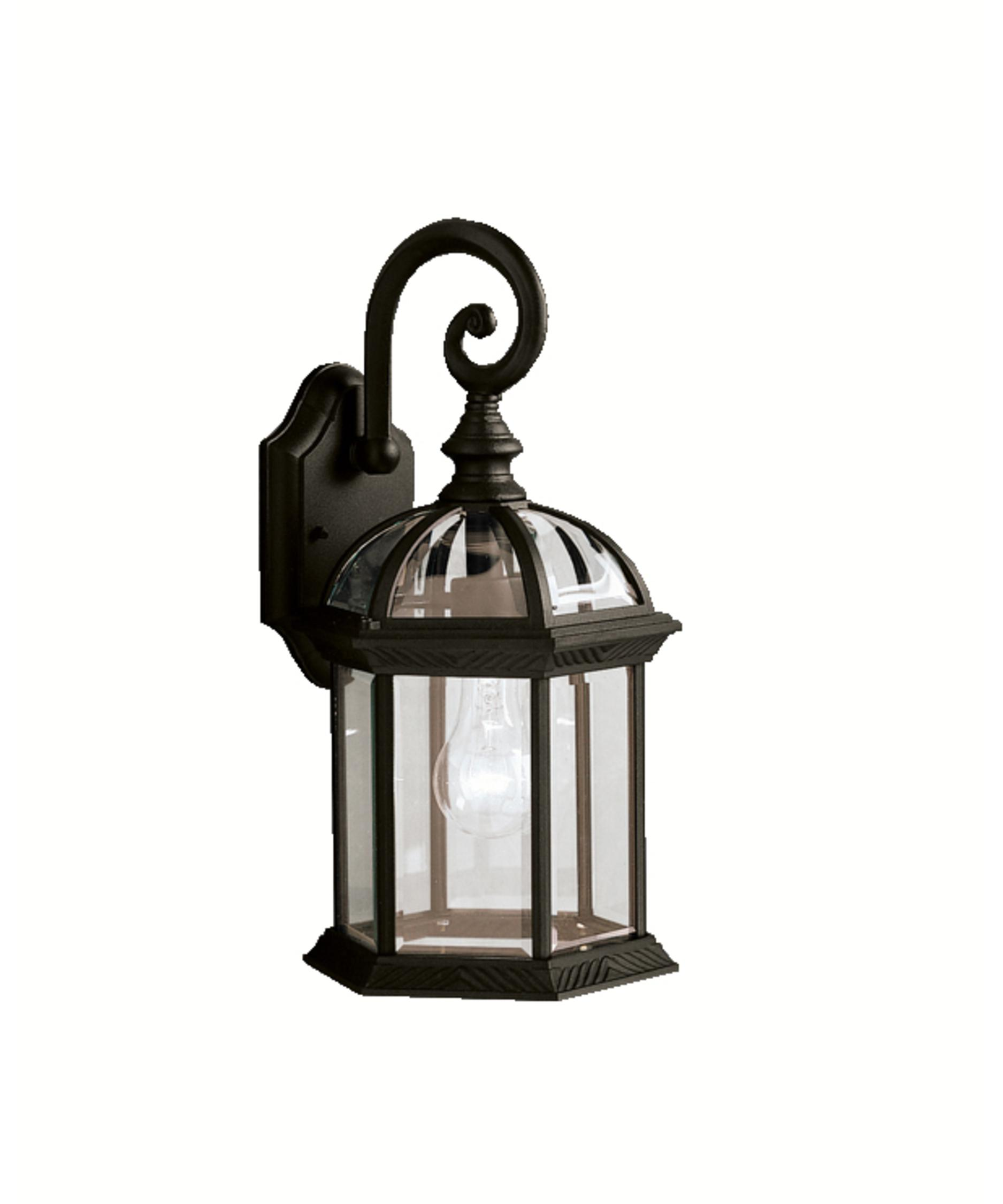 Kichler New Street Series 08 Outdoor 1 Light Outdoor Wall Light Capitol Lighting 1-800lighting.com