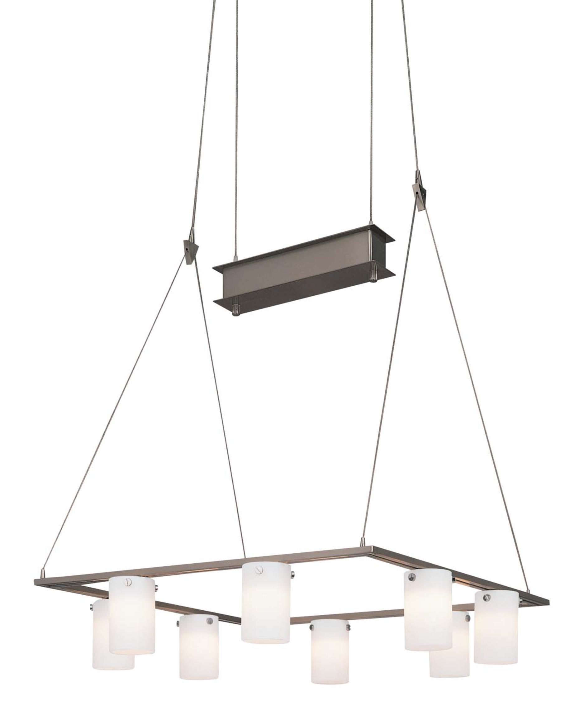 Kovacs Counter Weights 19 Inch Wide 8 Light Chandelier – George Kovacs Chandelier