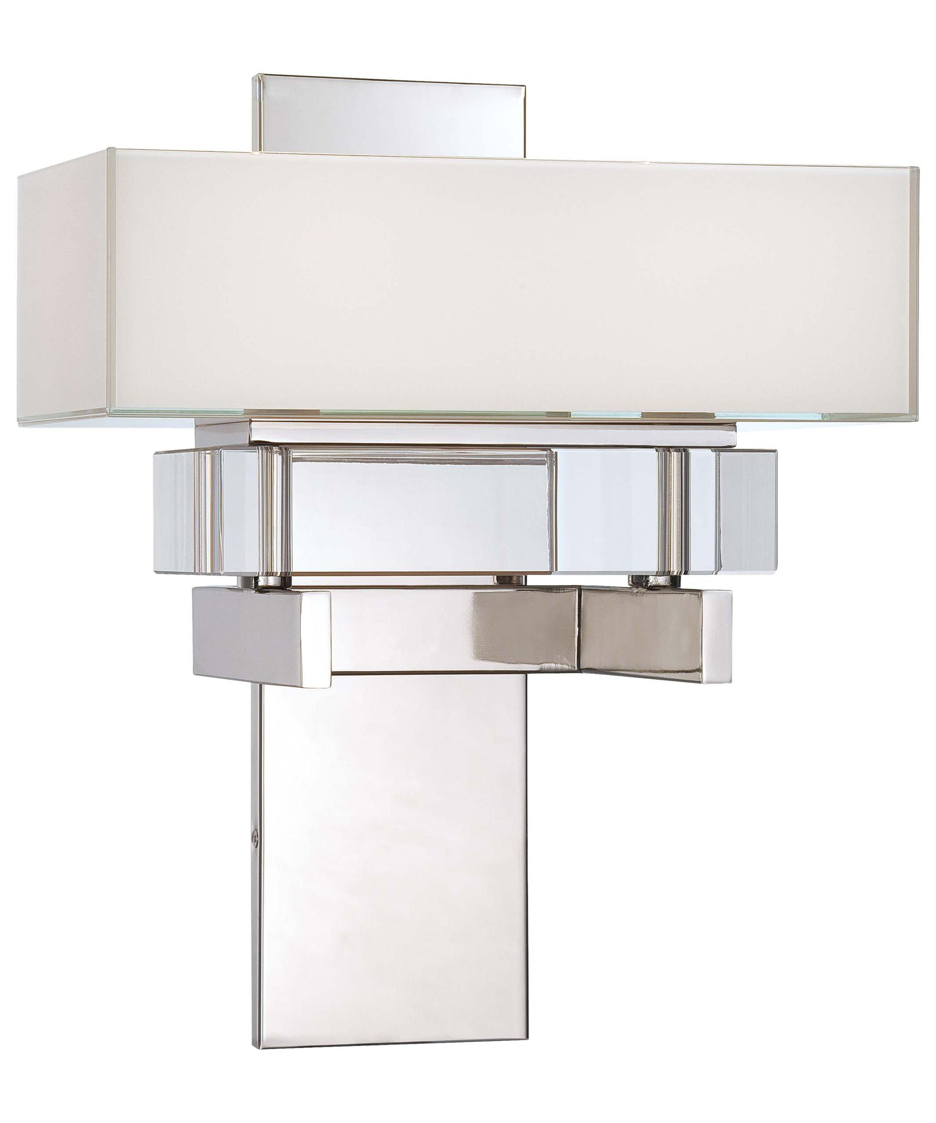 Good Metropolitan N Eden Roe Inch Wide Wall Sconce Capitol   Metropolitan Kitchen  And Bath