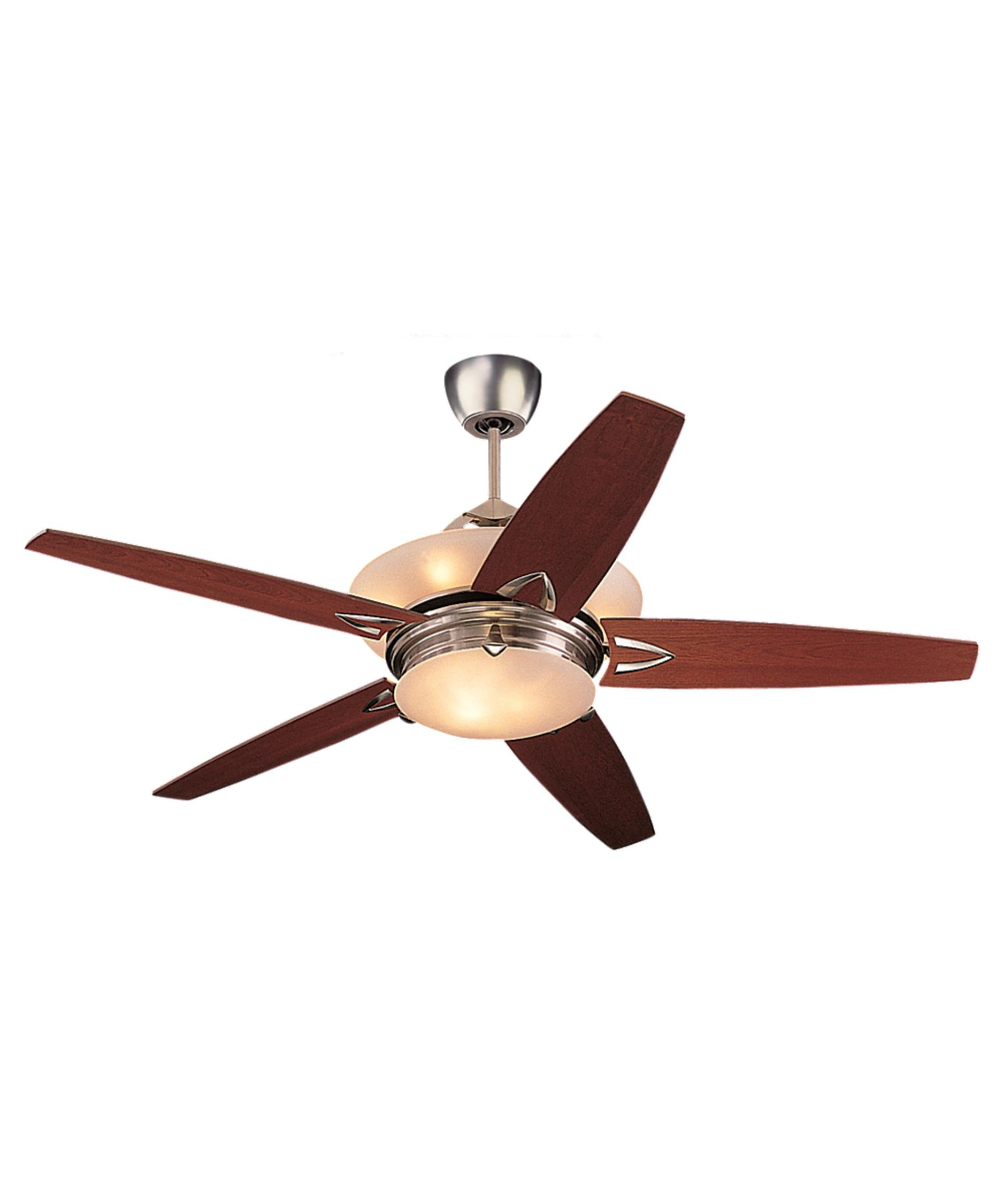 Murray Feiss Ceiling Fan Light Kit: Monte Carlo 5AHR60 Arch 60 Inch Ceiling Fan With Light Kit