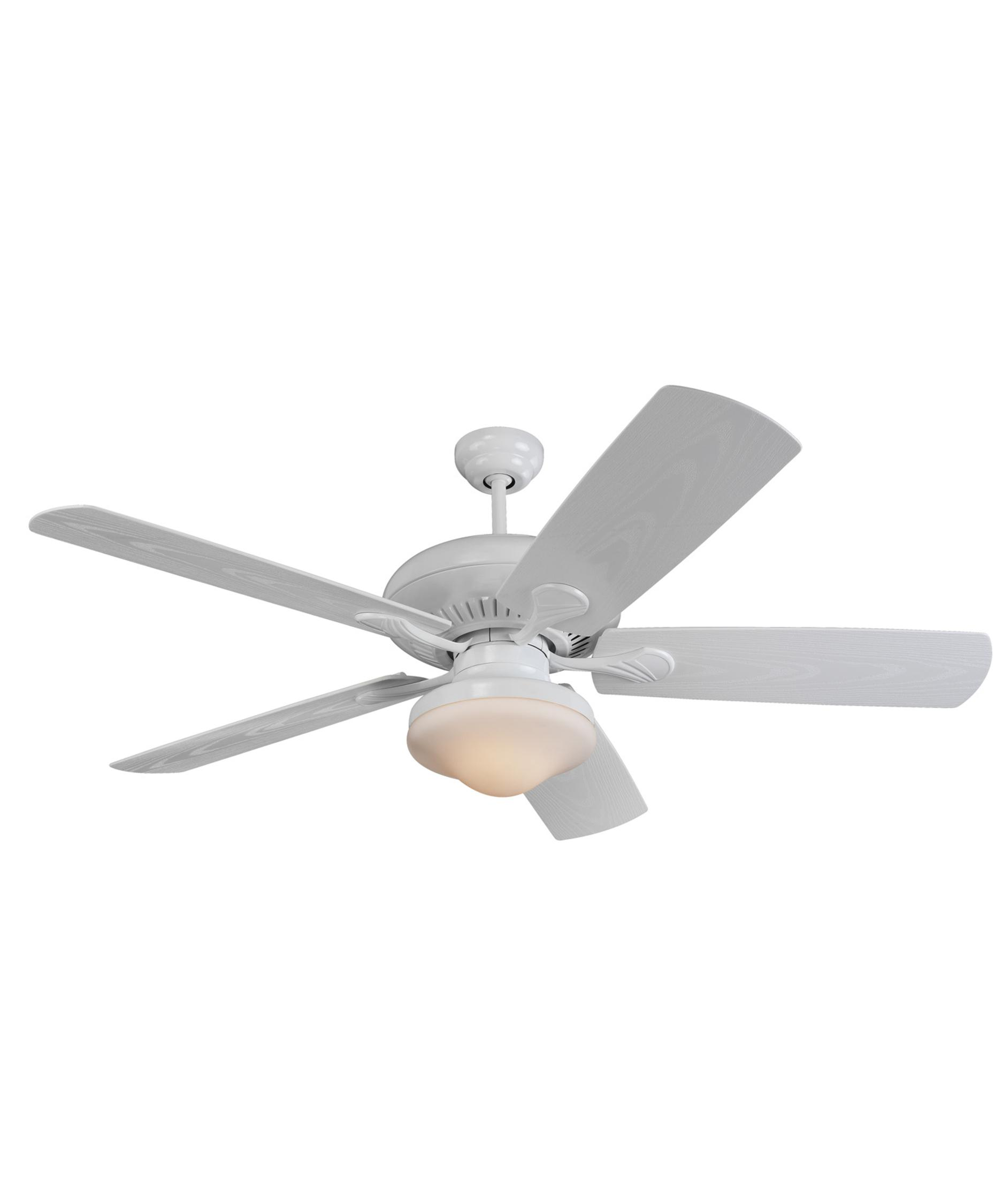 Murray Feiss Ceiling Fan Light Kit: Monte Carlo 5SH54 Shores Energy Smart 54 Inch Ceiling Fan