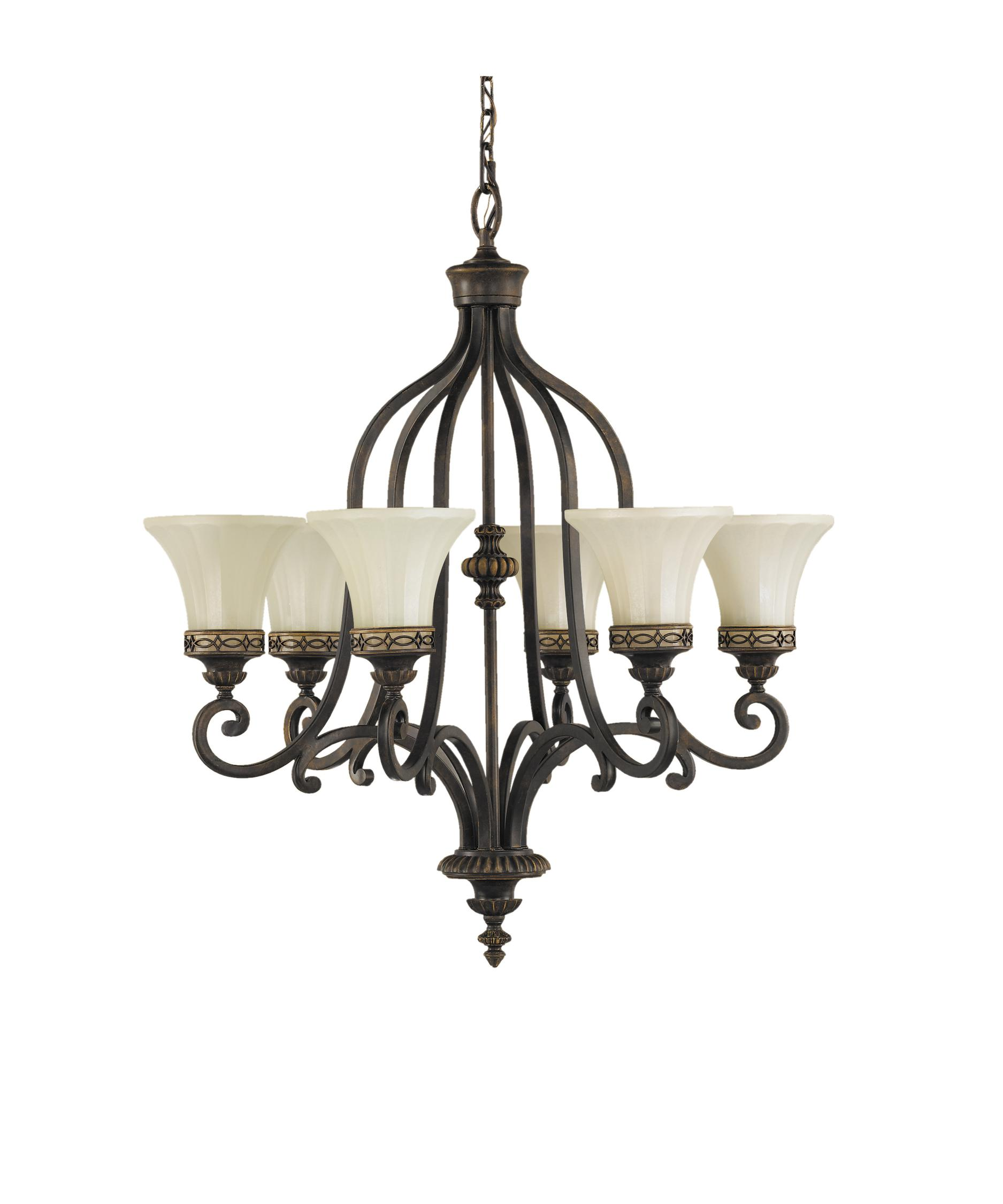 Murray Feiss Drawing Room 28 Inch Wide 6 Light Chandelier – Murray Feiss Chandeliers