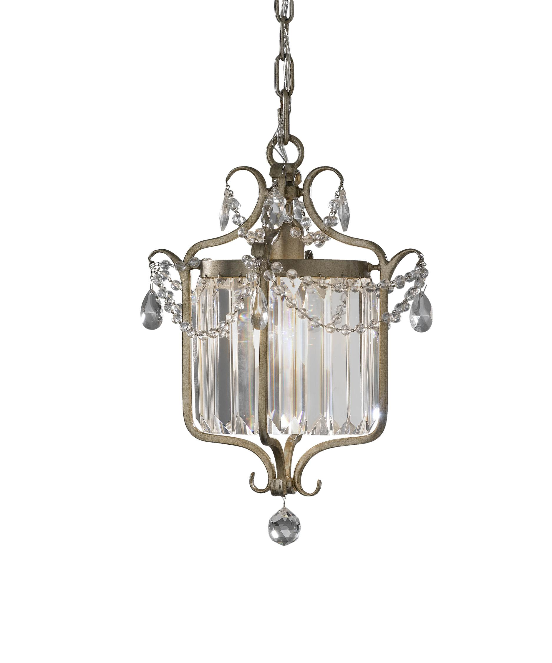 Murray Feiss Gianna 11 Inch Wide Foyer Pendant – Murray Feiss Chandeliers
