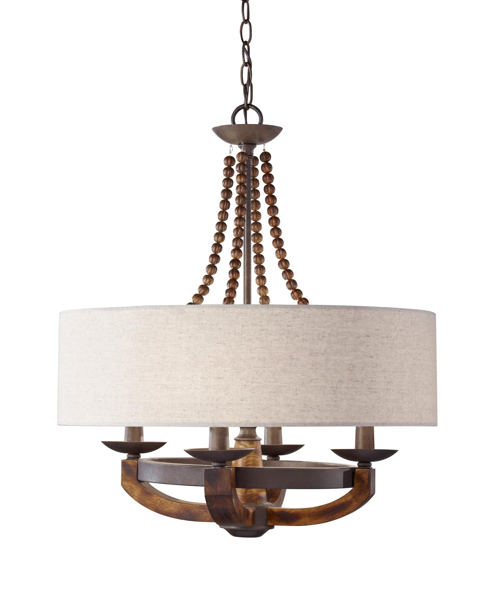 Murray Feiss Adan 22 Inch Wide 4 Light Chandelier – Murray Feiss Chandeliers