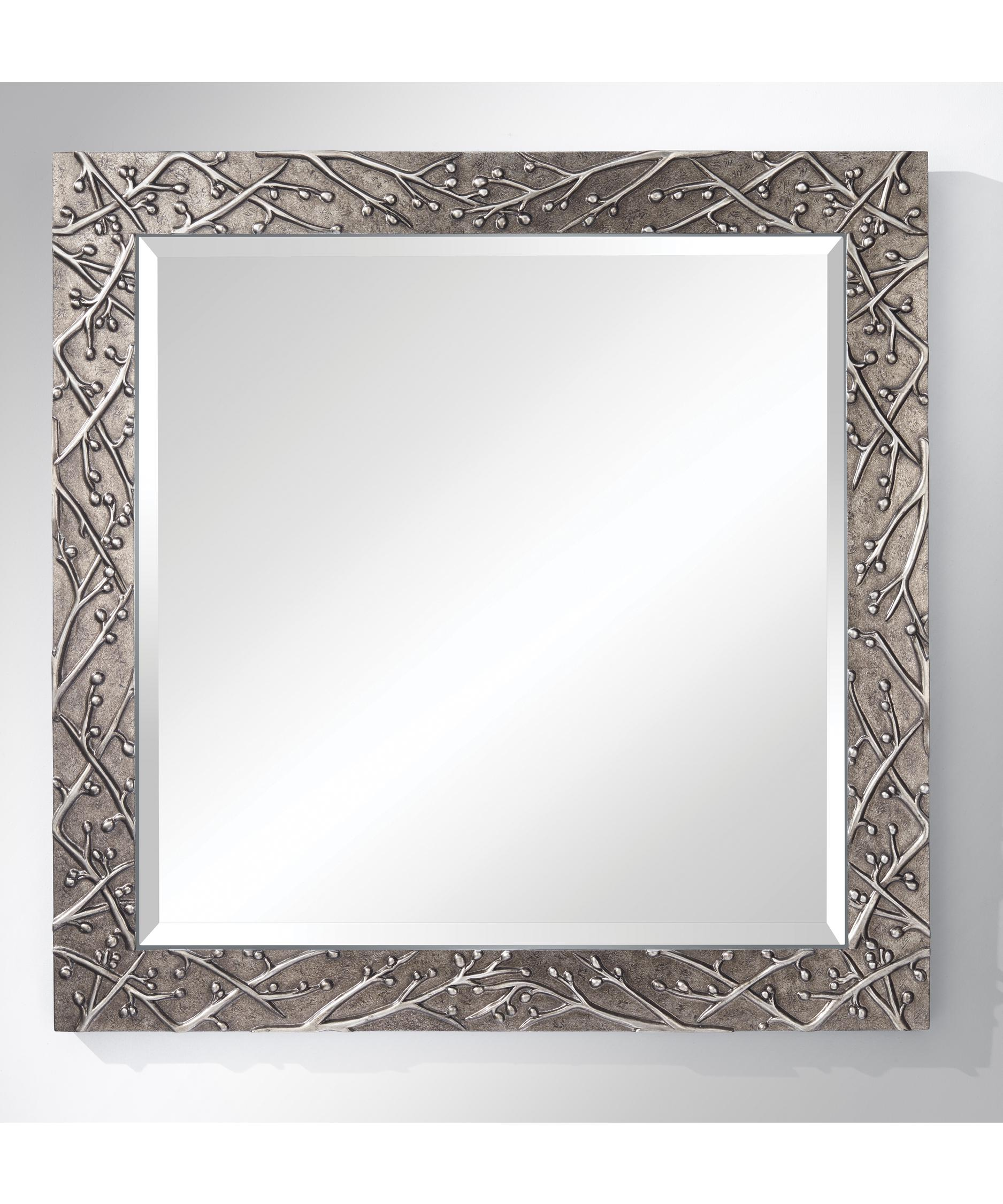 Murray Feiss Mirrors: Murray Feiss MR1179 Xera Square Wall Mirror