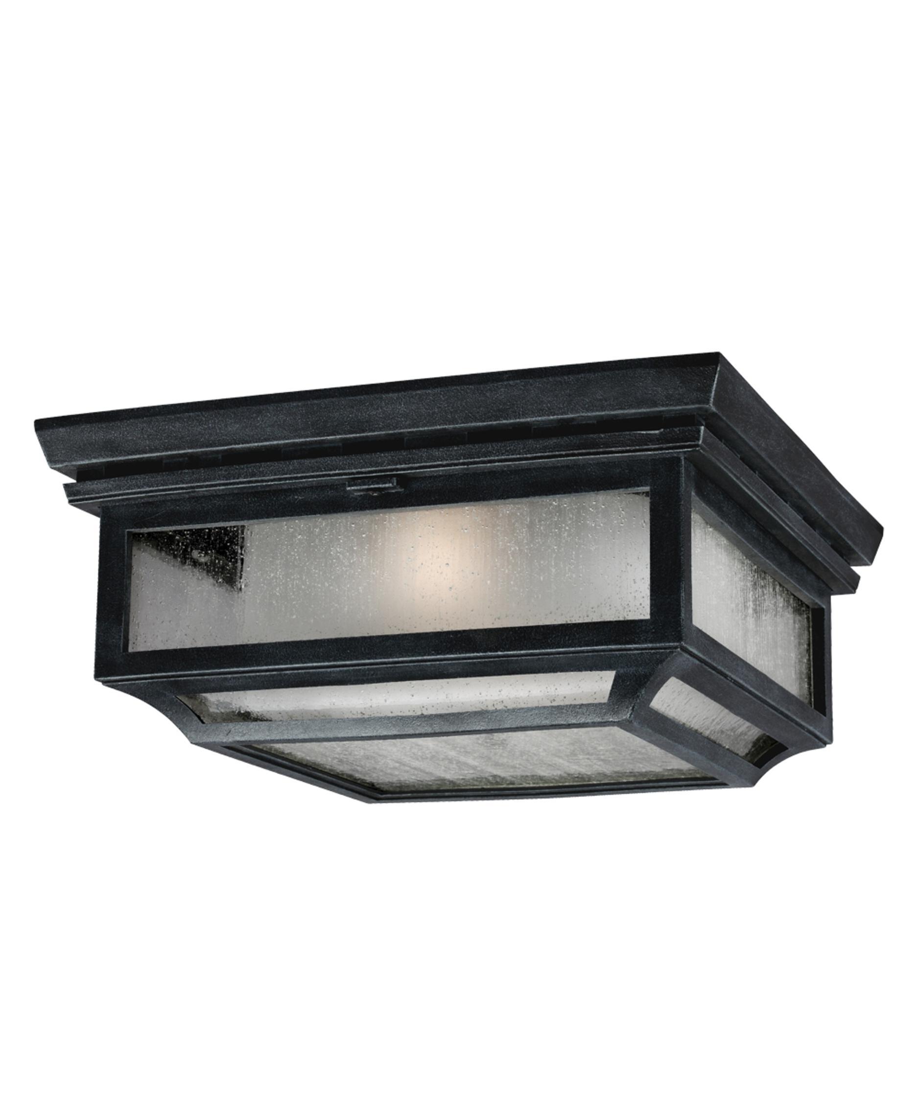 Flush mount outdoor lighting - Murray Feiss Ol10613 Shepherd 13 Inch Wide 2 Light Outdoor Flush Mount Capitol Lighting 1 800lighting Com