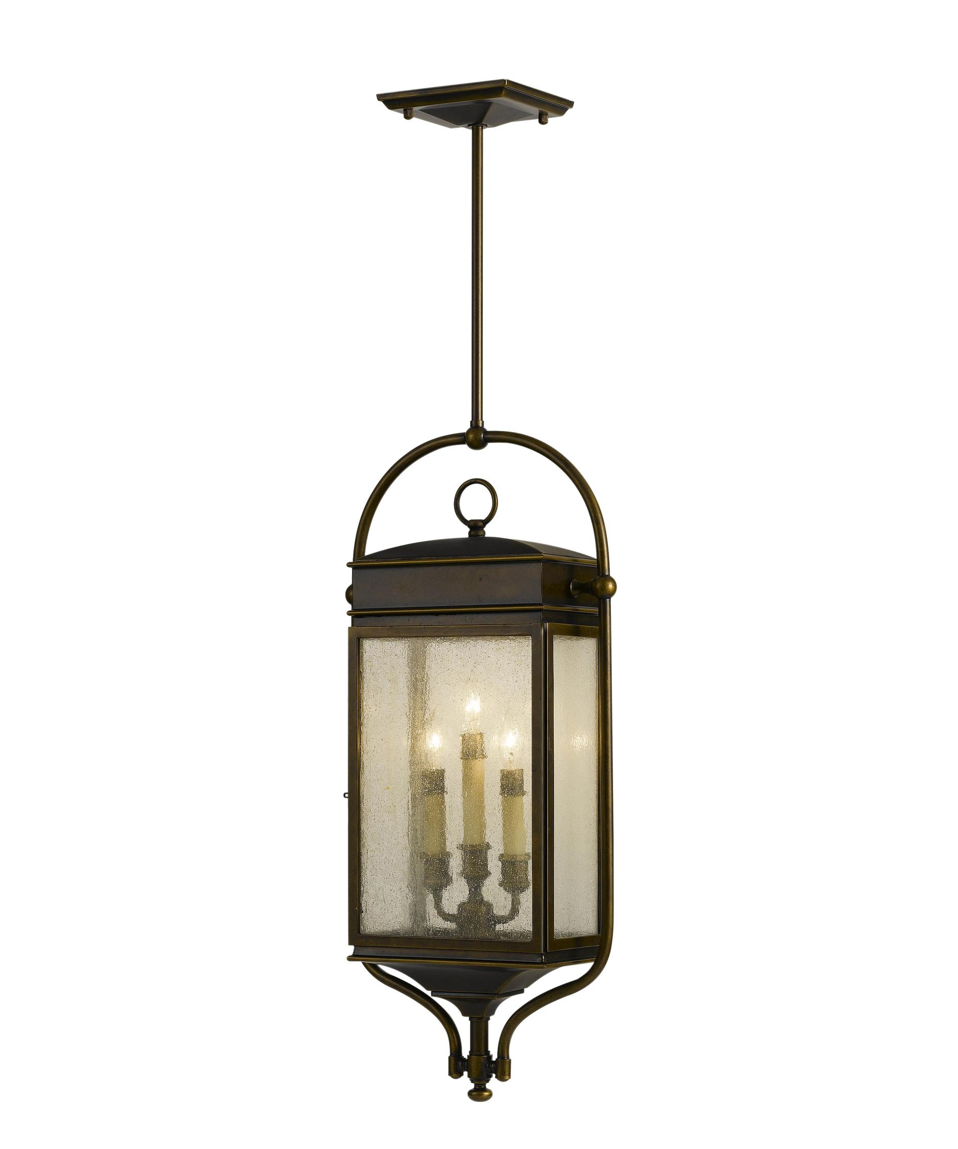 shown in astral bronze finish and clear seeded glass - Feiss Lighting