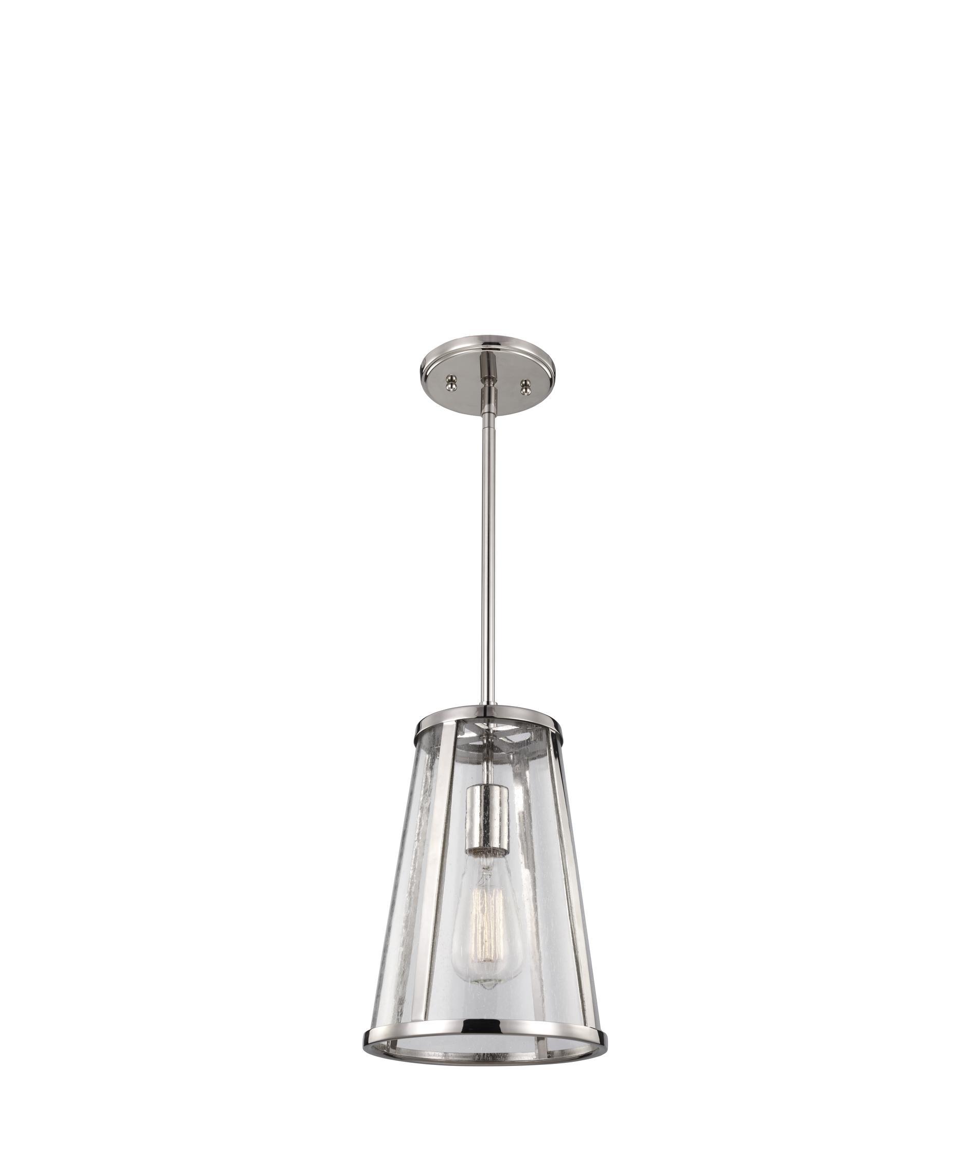 murray feiss p1287 harrow 8 inch wide 1 light mini pendant capitol lighting - Feiss Lighting