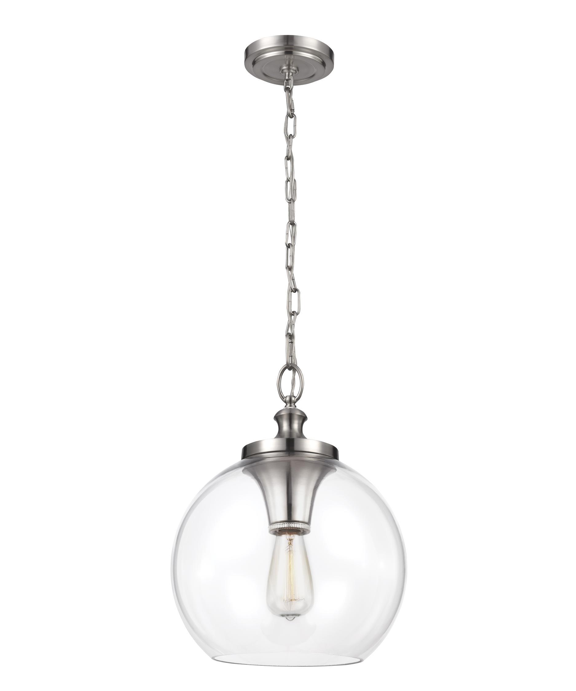 murray feiss p1307 tabby 12 inch wide 1 light large pendant capitol lighting - Feiss Lighting