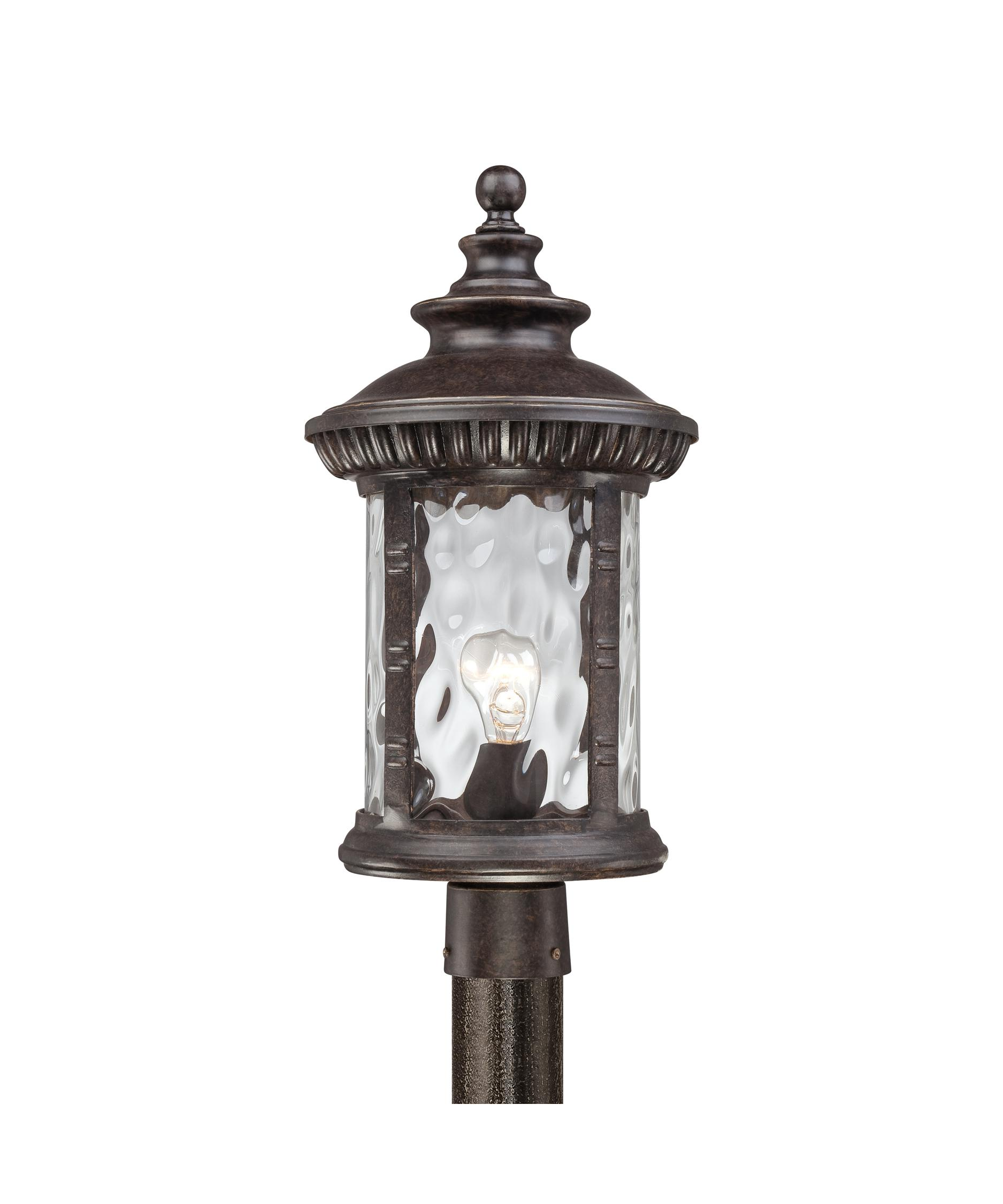 Quoizel CHI9011 Chimera 1 Light Outdoor Post Lamp