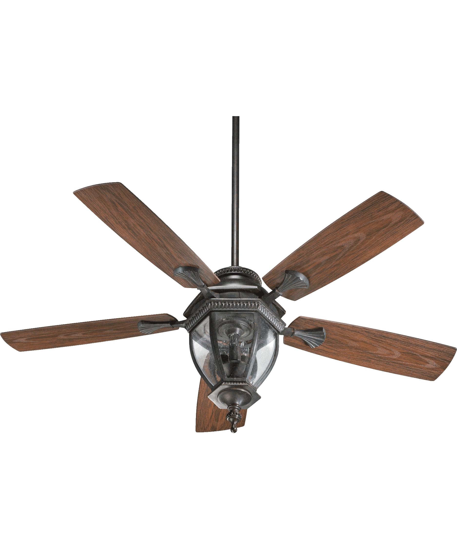 Murray Feiss Ceiling Fan Light Kit: Quorum International 145525 Baltic Patio 52 Inch Ceiling