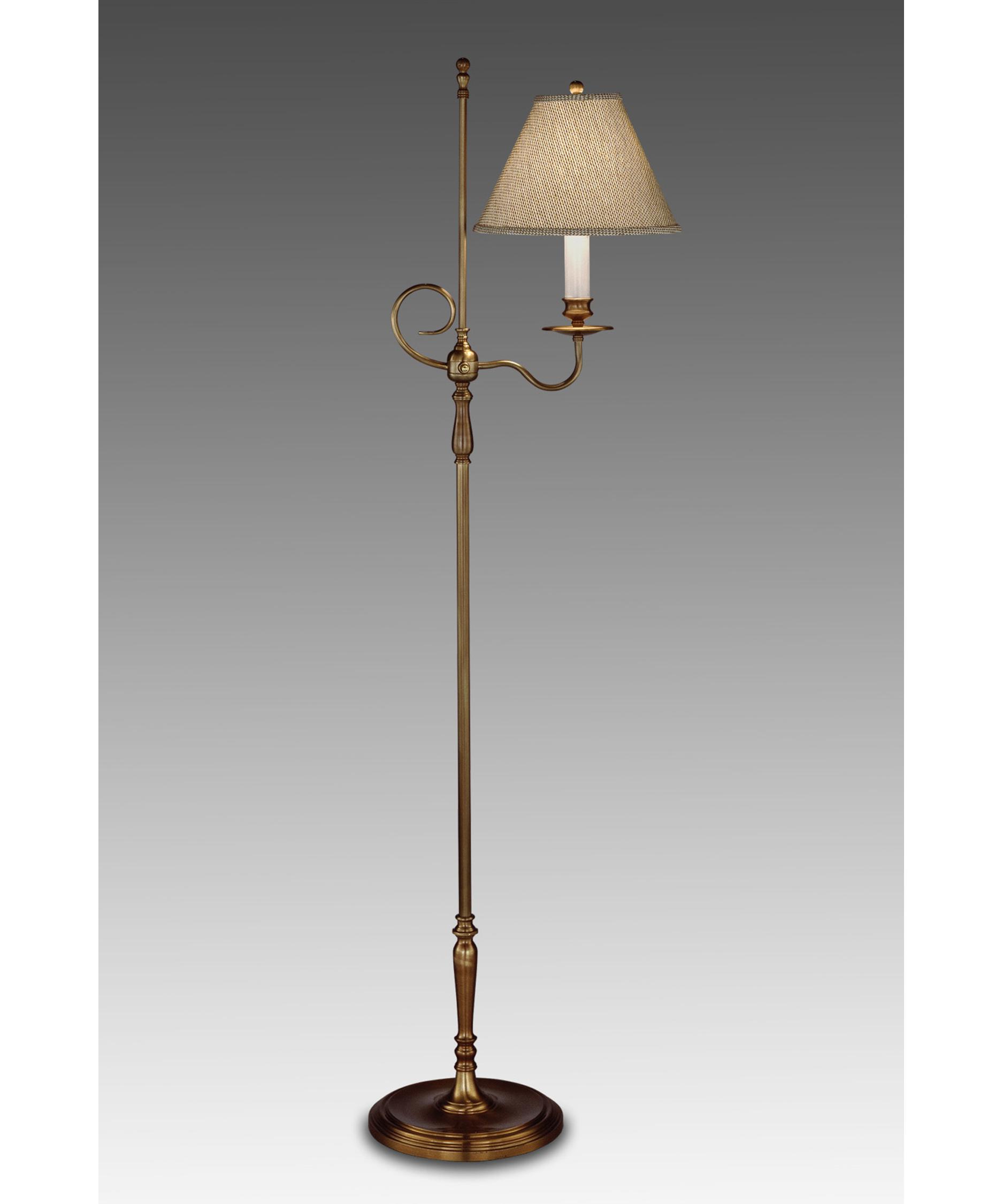 Remington Lamp 1991 Floor Lamp In Antique Brass Capitol