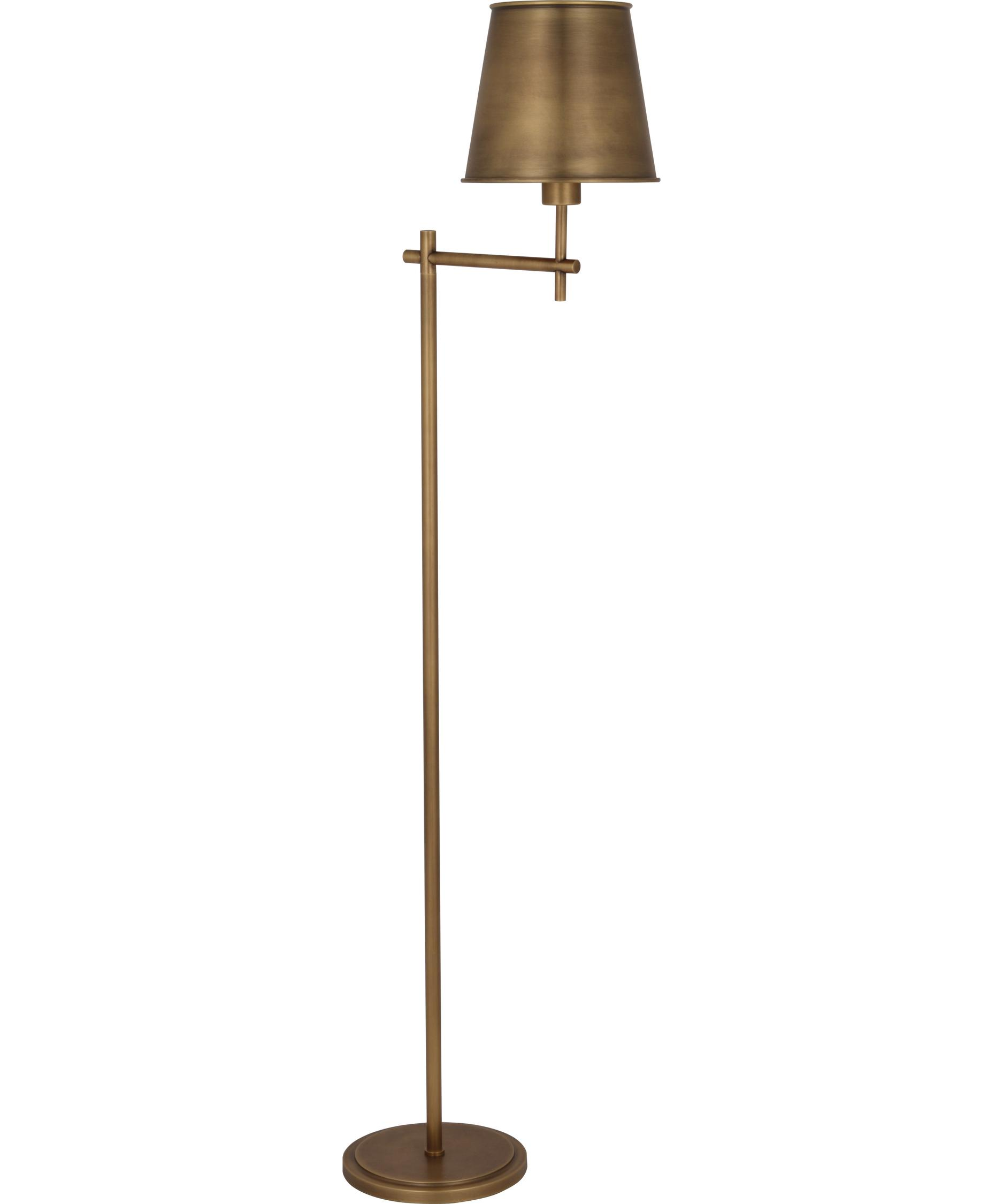shown in aged brass finish - Robert Abbey Lighting
