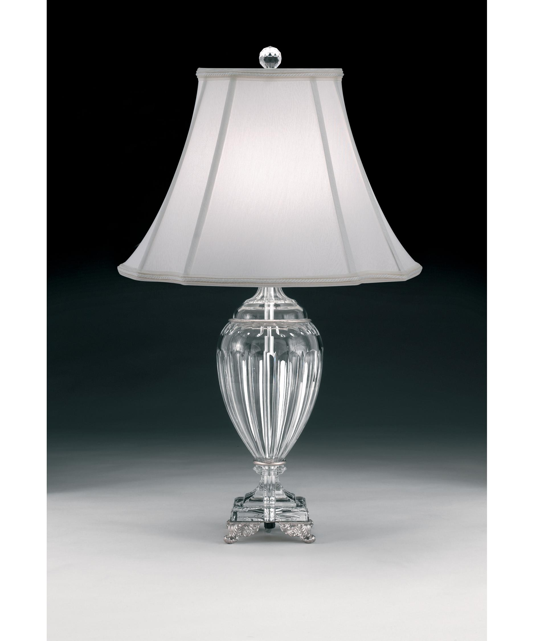 schonbek princessa 24 inch high table lamp capitol lighting - Schonbek Lighting