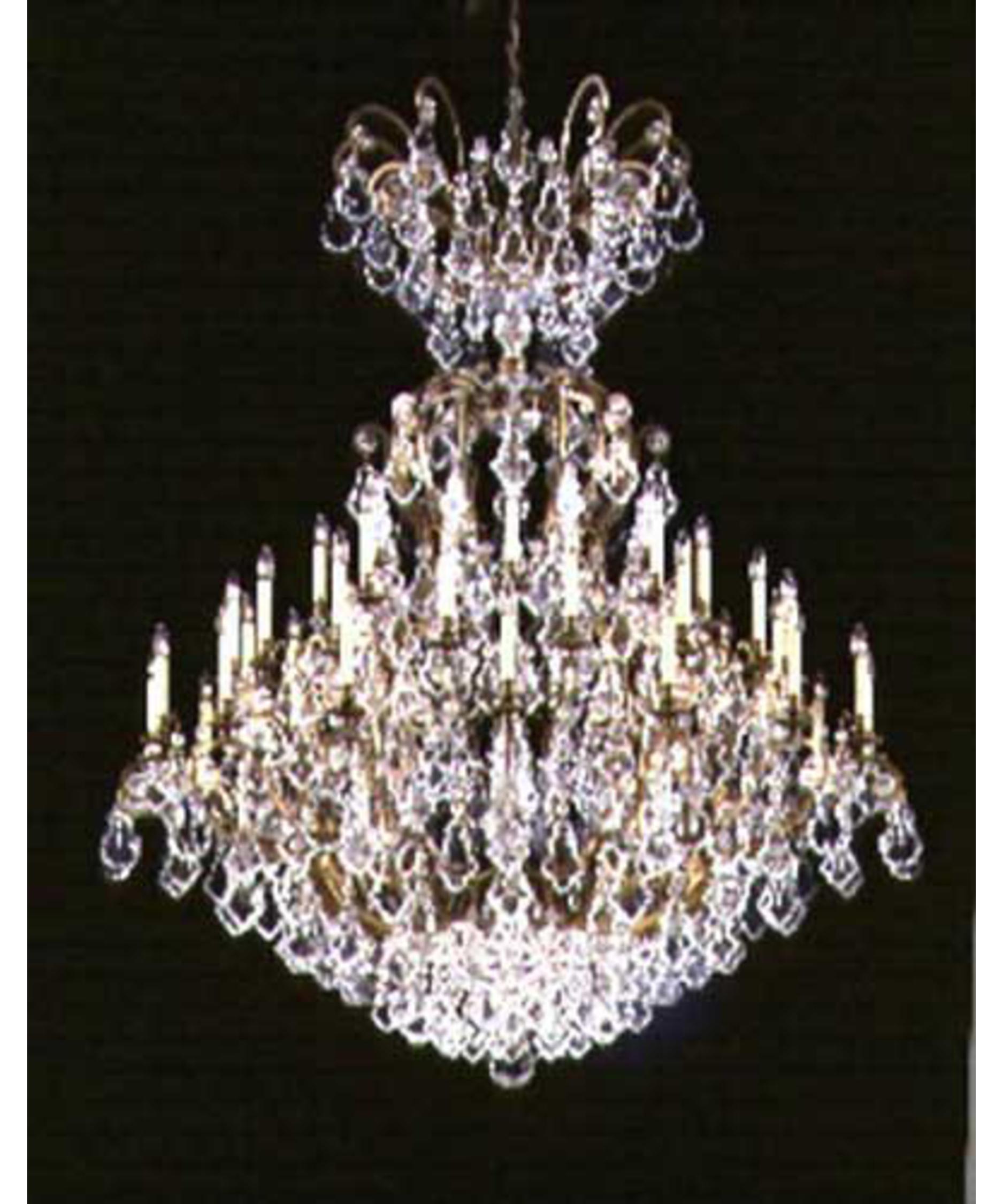 schonbek versailles 60 inch wide 41 light chandelier capitol lighting - Schonbek Chandelier