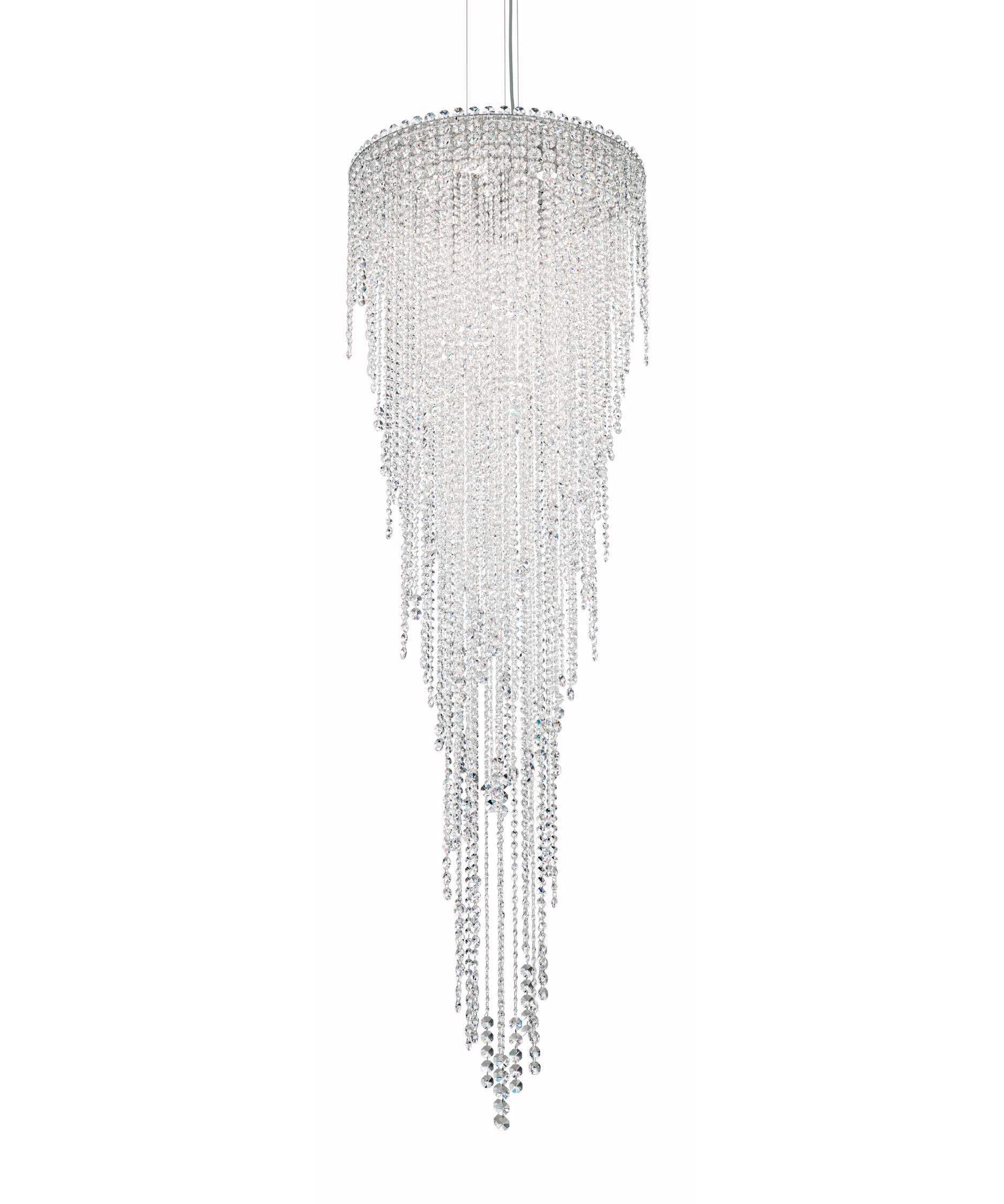 schonbek ch2413 chantant 24 inch wide 6 light large pendant capitol lighting - Schonbek Lighting