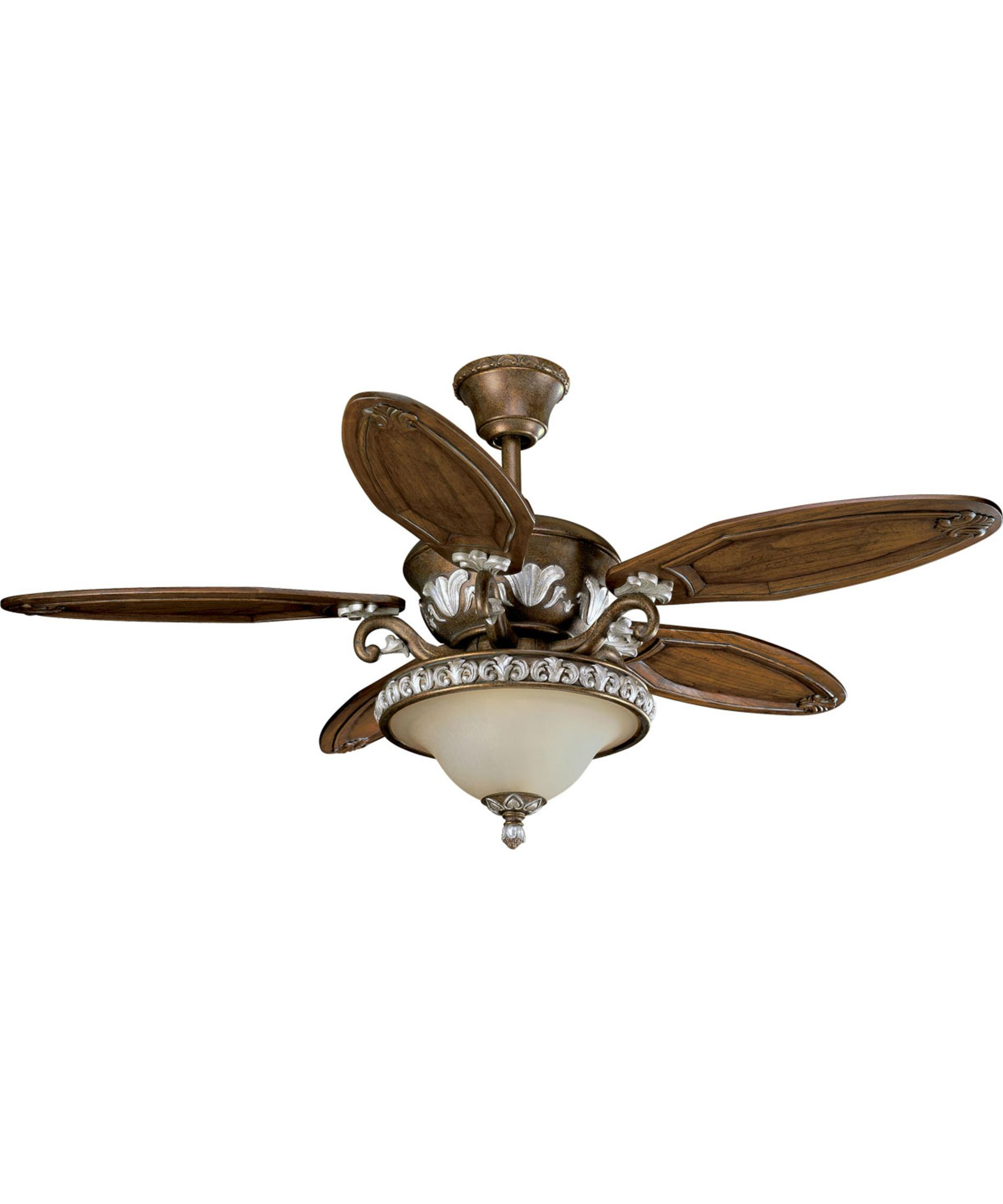 Thomasville lighting p2505 carmel 54 inch ceiling fan with for Thomasville lights