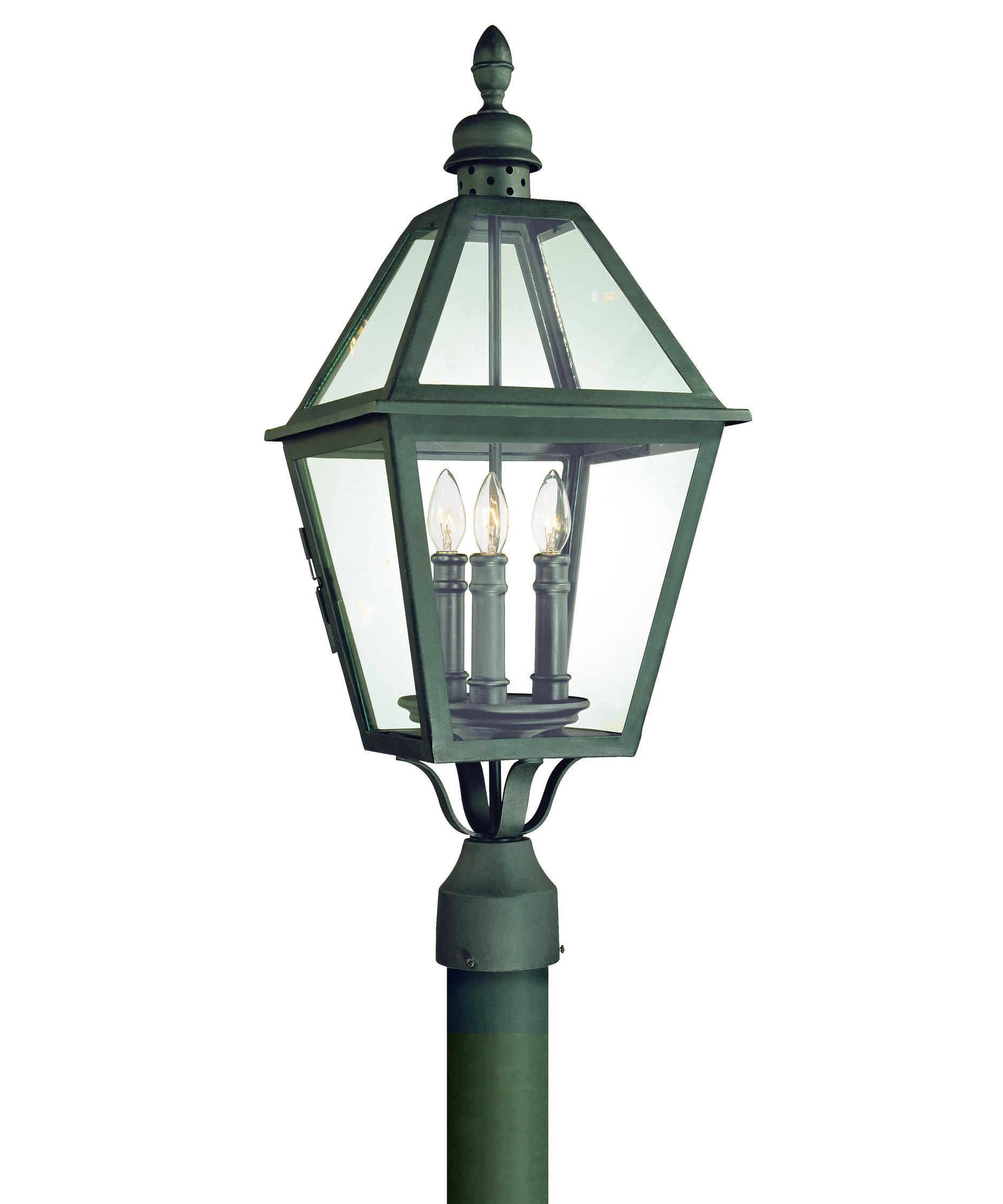 troy lighting p9625 townsend 3 light outdoor post lamp. Black Bedroom Furniture Sets. Home Design Ideas