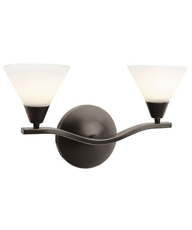 Shown in Oil Rubbed Bronze finish and Opal glass