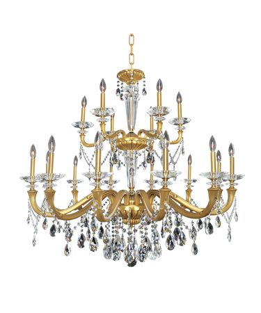Shown in Historic Brass finish and Firenze Clear crystal