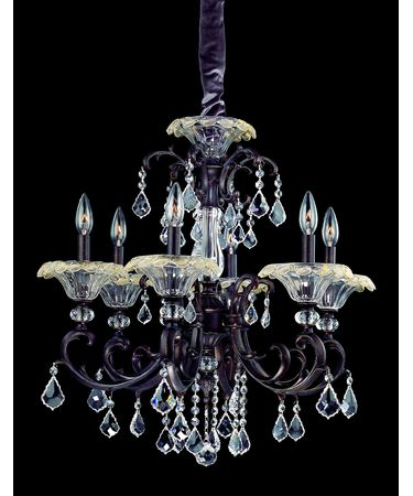 Shown In Sienna Bronze and Clear Firenze Crystal
