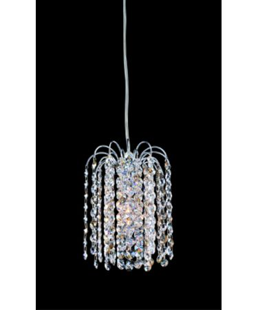 Shown in Polished Chrome finish and Firenze Clear with Light Topaz Accents crystal