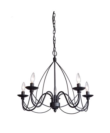 Shown in Black Wrought Iron finish