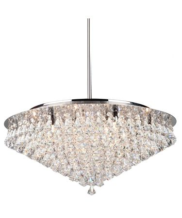 Shown in Chrome finish and Droplets crystal