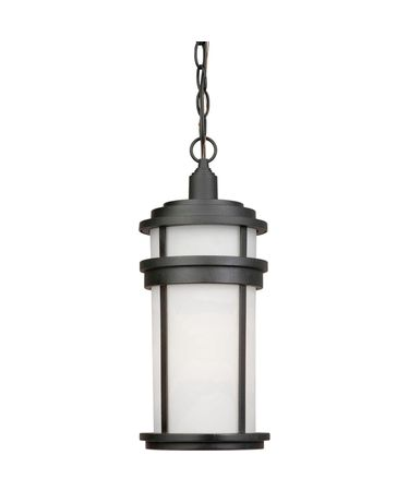 Shown in Black finish and Opal glass
