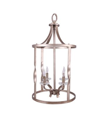 Shown in Antique Silver Leaf finish