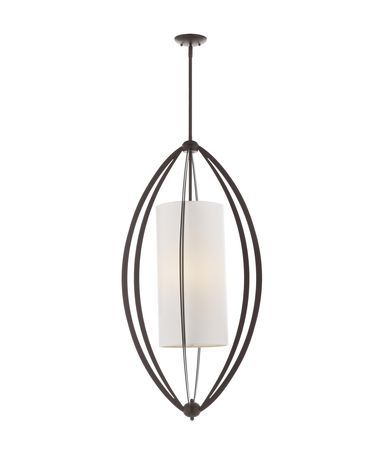 Shown in Oil Rubbed Bronze finish and Opal Etch glass