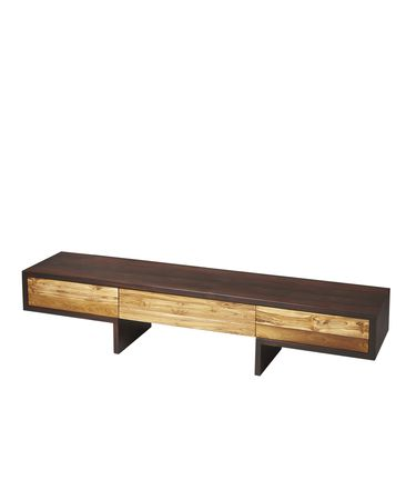 Shown in Recycled Teak And Sheesham Solid Wood finish