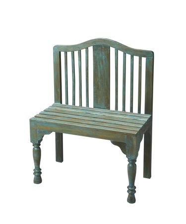 Shown in Solid Wood And Hand Painted Antique Verdi finish