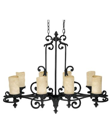 Shown in Wrought Iron finish