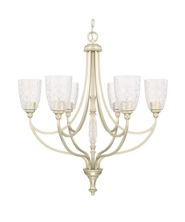 Shown in Soft Gold finish and Clear Organic glass